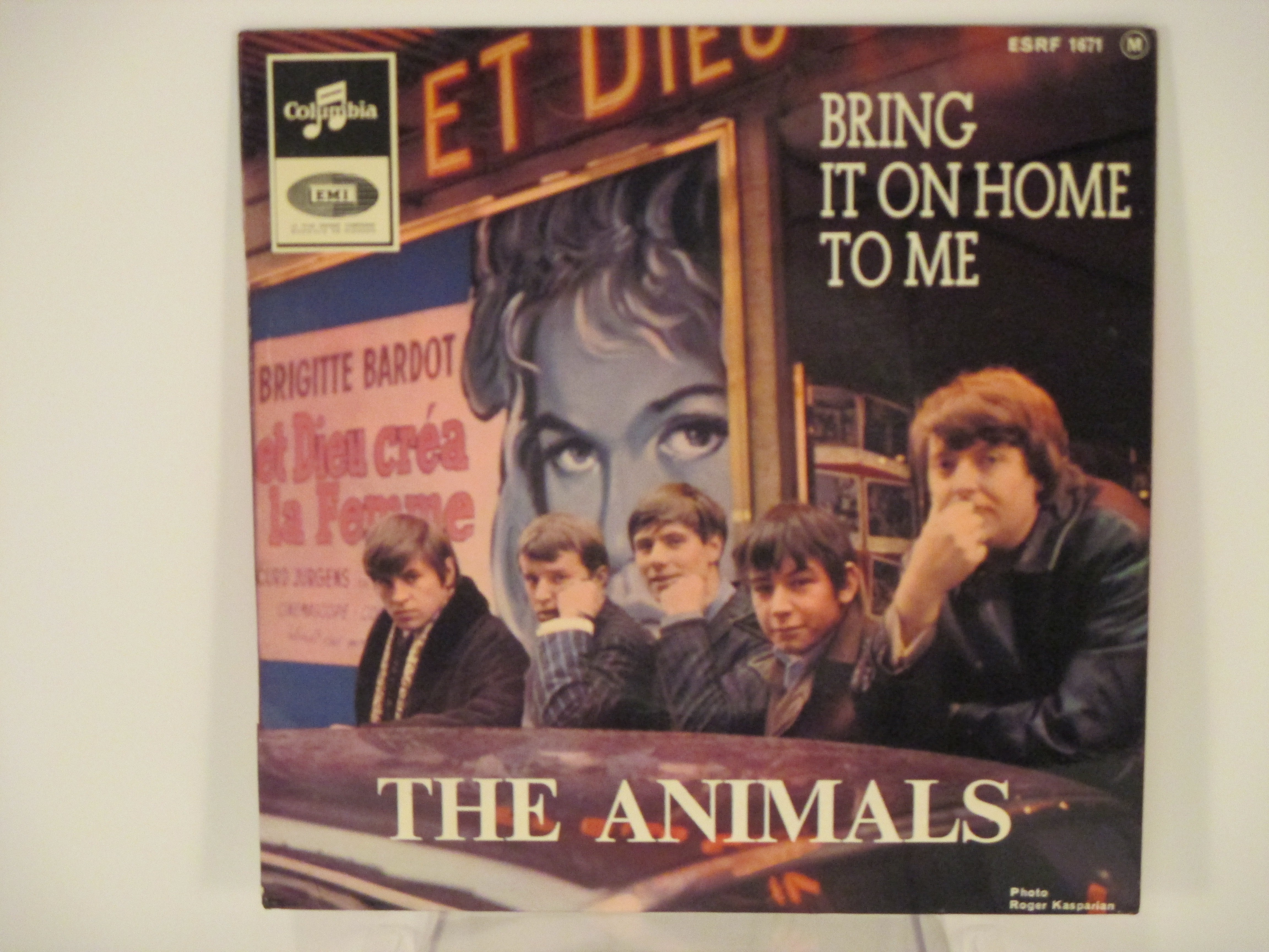 ANIMALS : (EP)  Bring it on home to me / Hallelujah! I love her so / For miss Caulker / Mess around