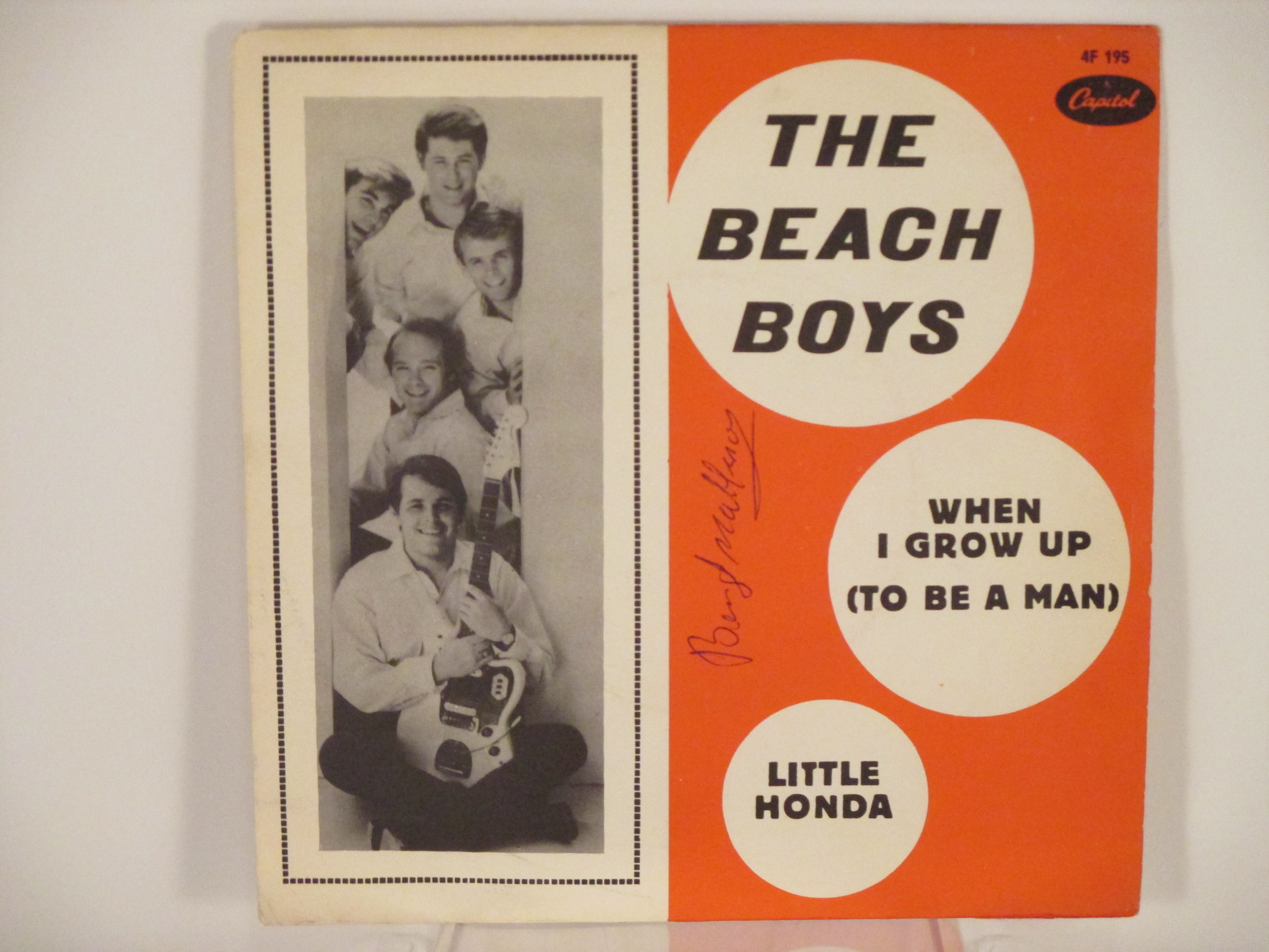 BEACH BOYS :  Little Honda / When I grow up