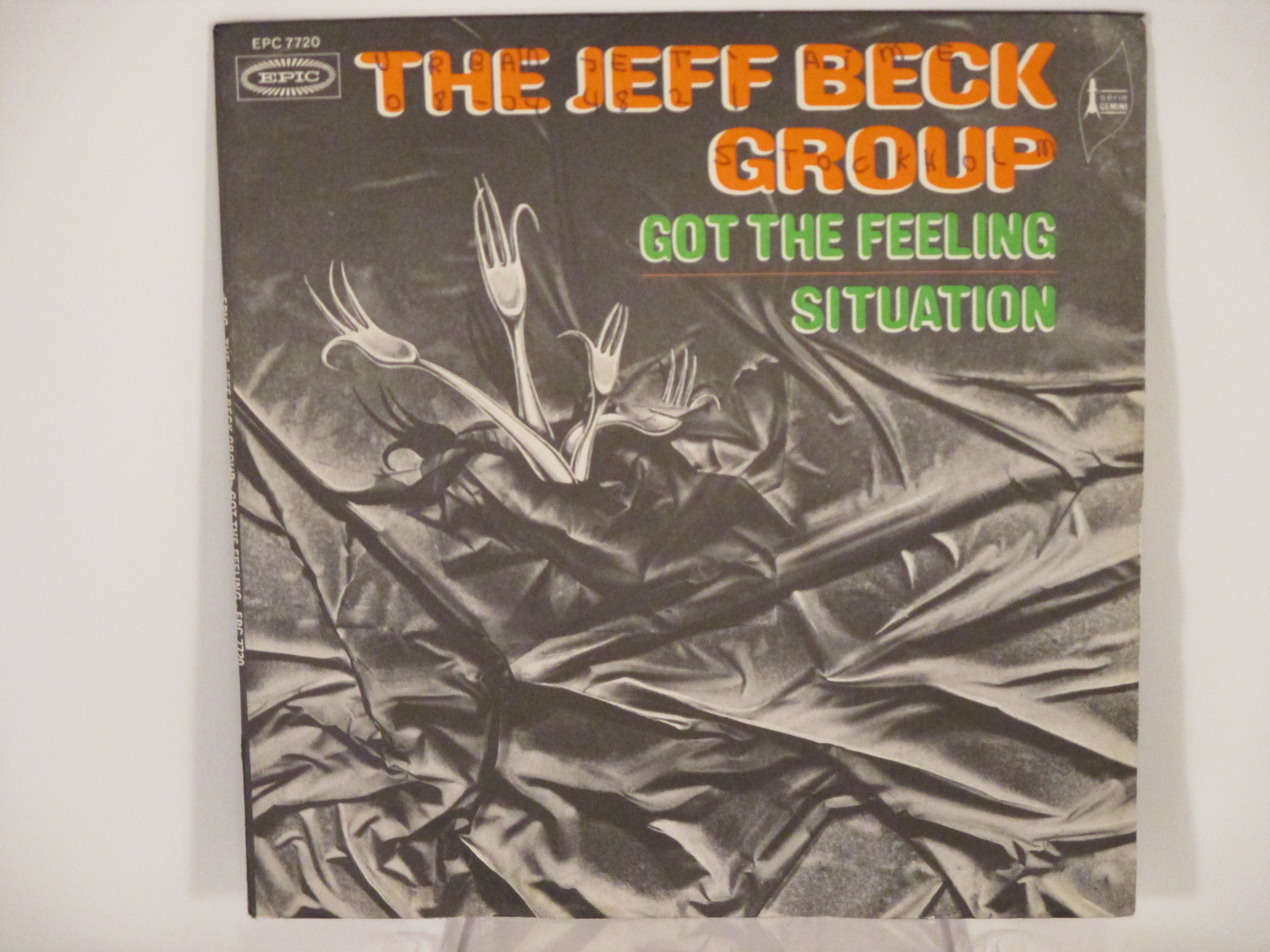 JEFF BECK GROUP : Got the feeling / Situation