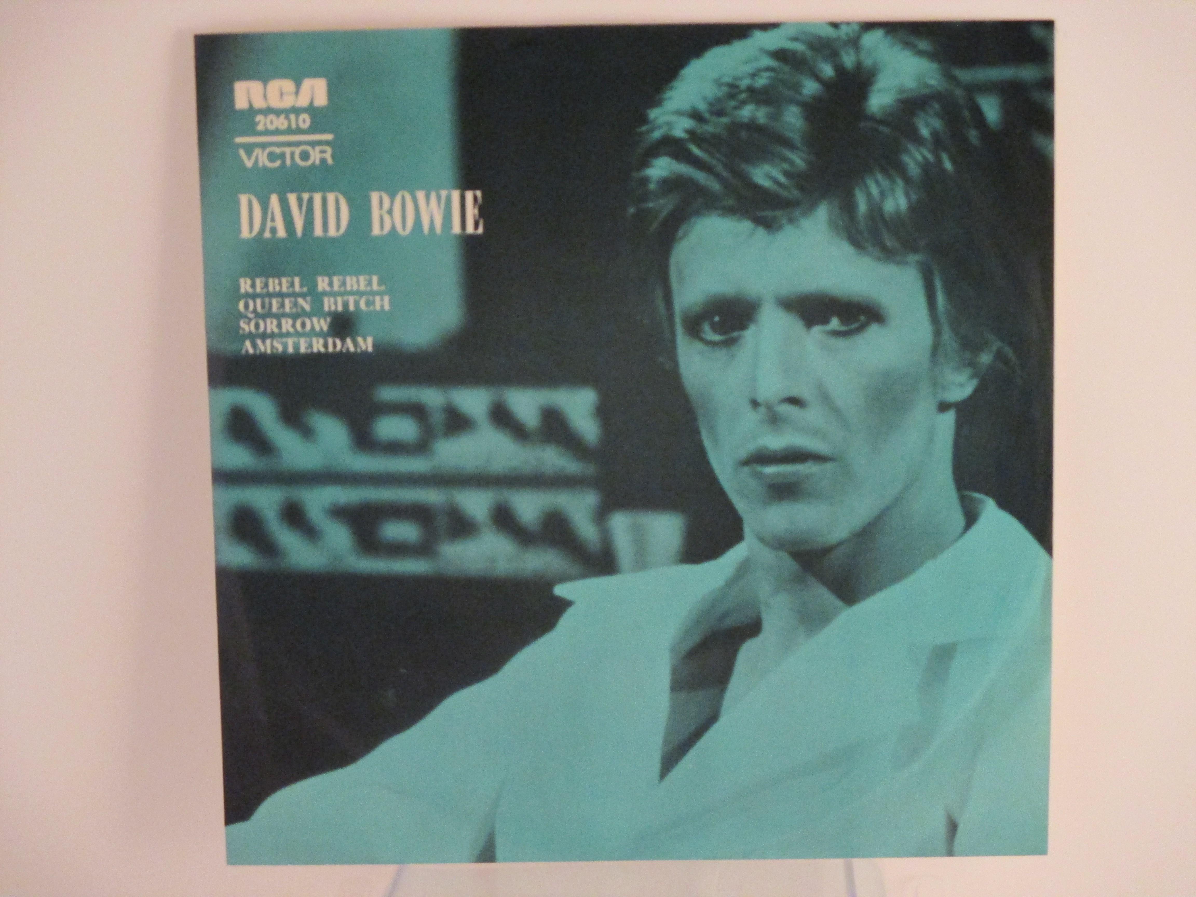 DAVID BOWIE : (EP) Rebel rebel / Queen Bitch / Sorrow / Amsterdam