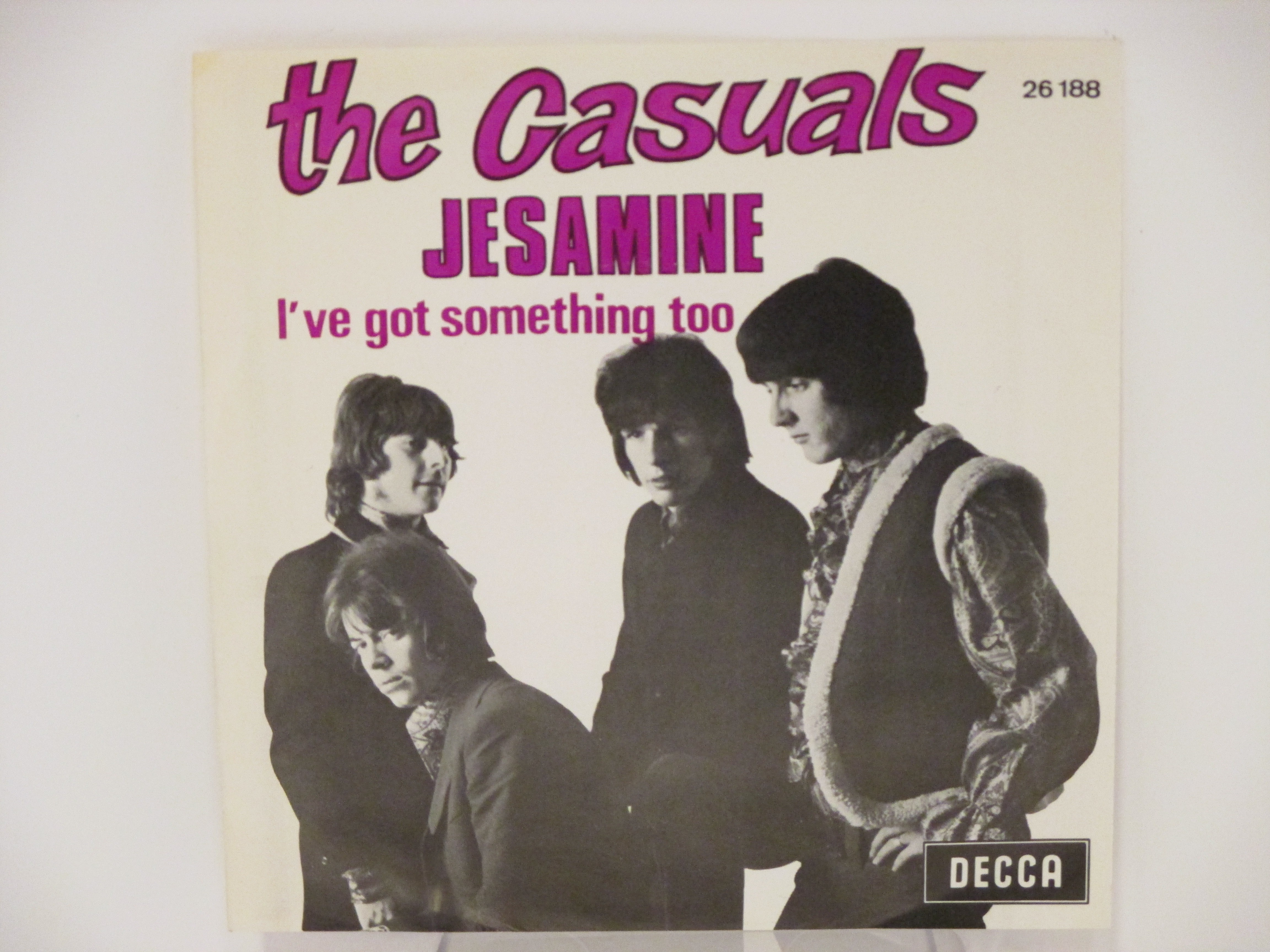 CASUALS : Jesamine / I've got something too