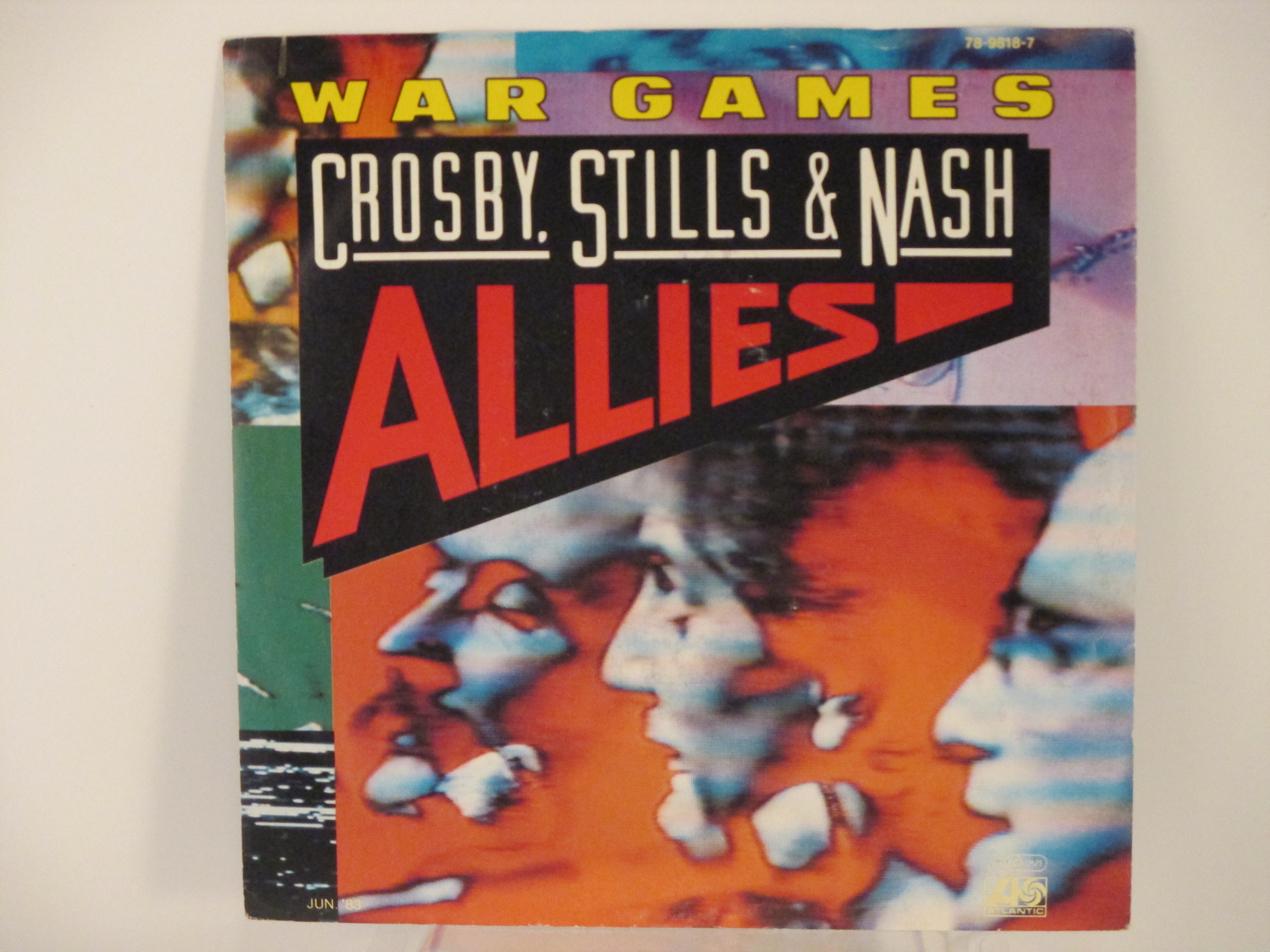 CROSBY; STILLS & NASH : War games / Shadow Captain