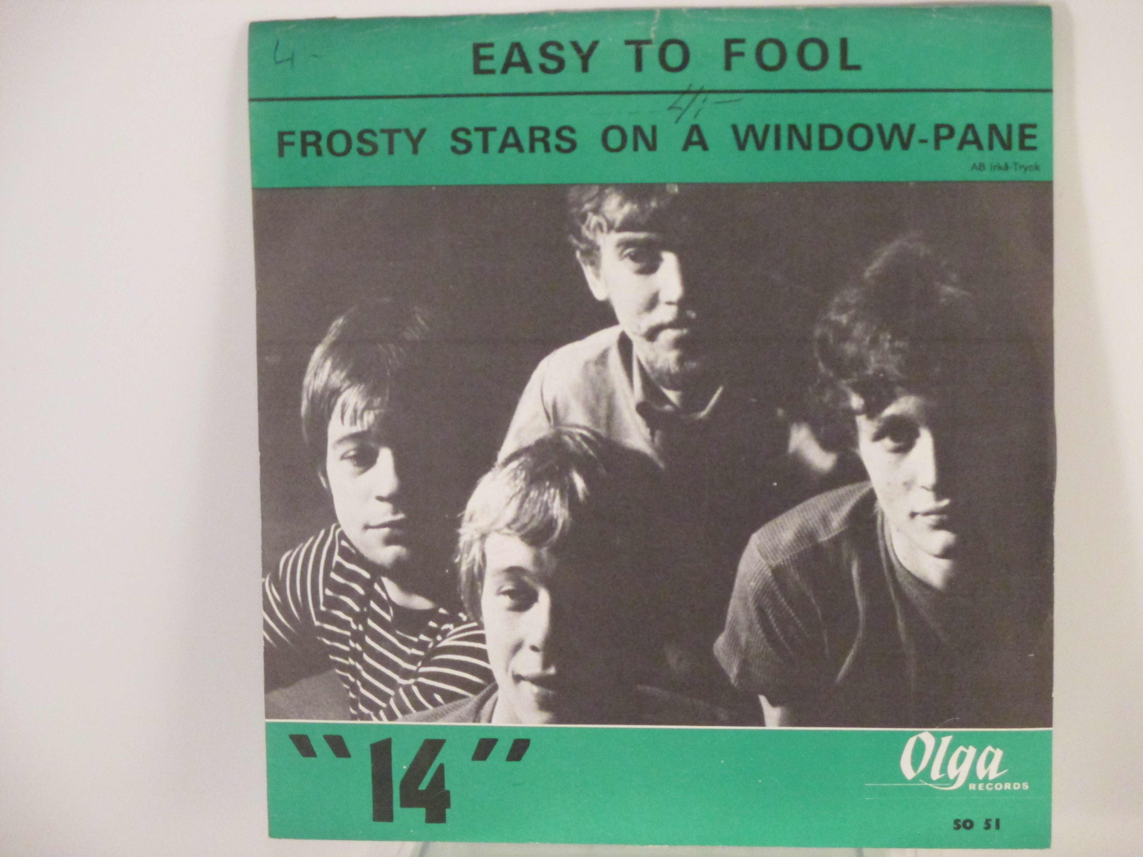 "FJORTON (""14""): Easy to fool / Frosty stars on a window-pane"