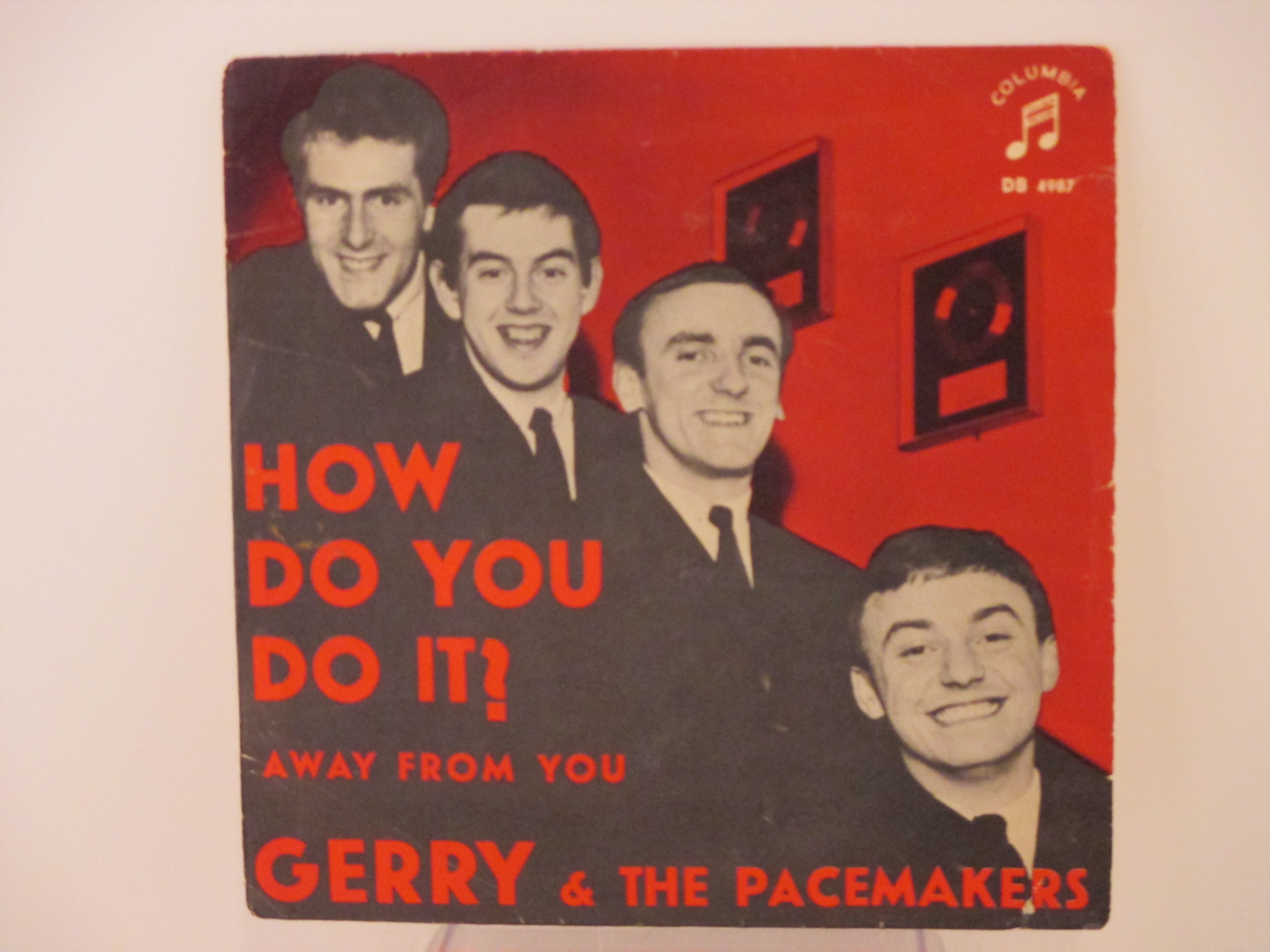 GERRY & PACEMAKERS : How do you do it? / Away from you