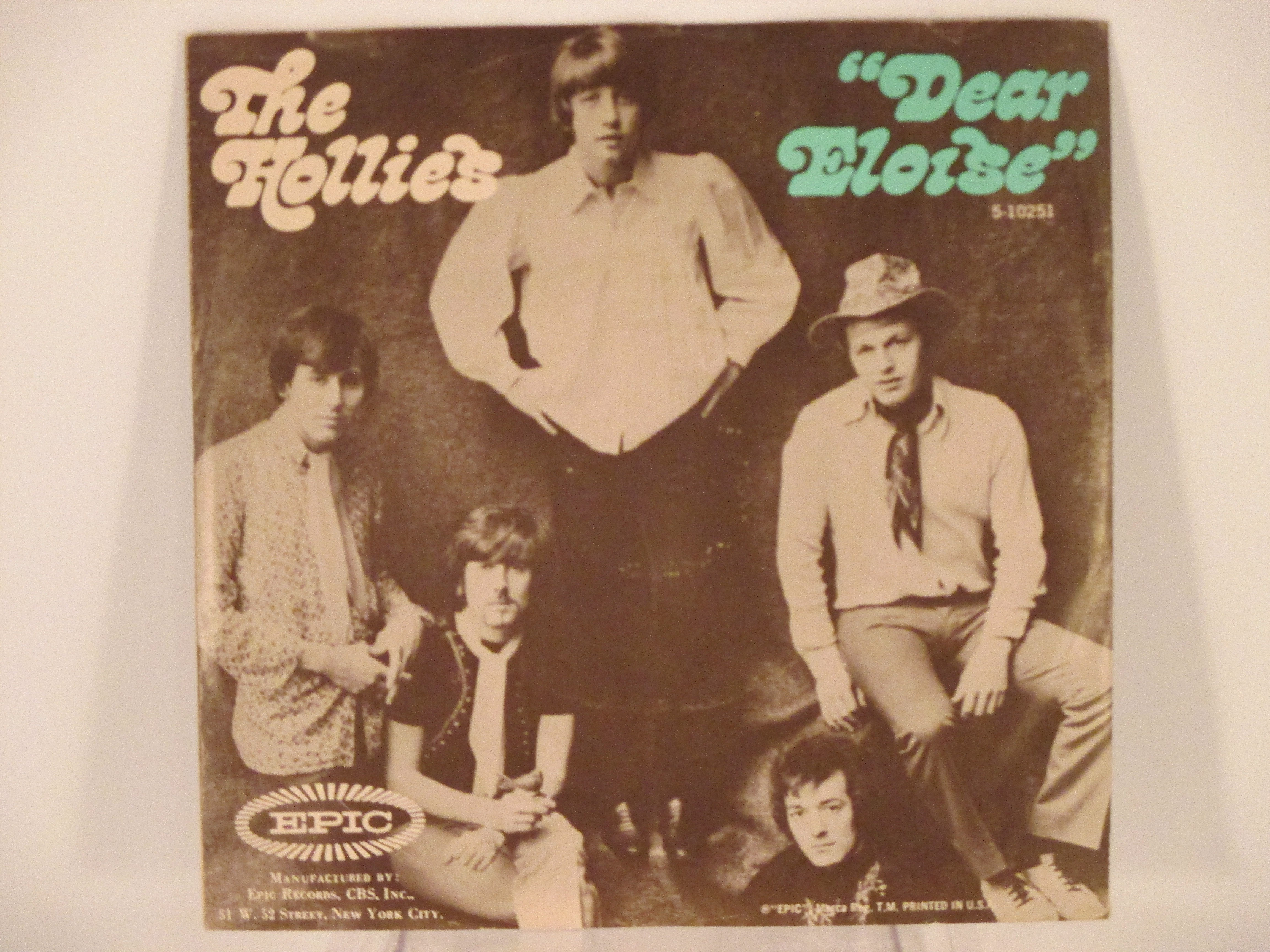HOLLIES : Dear Eloise / When your lights turned on