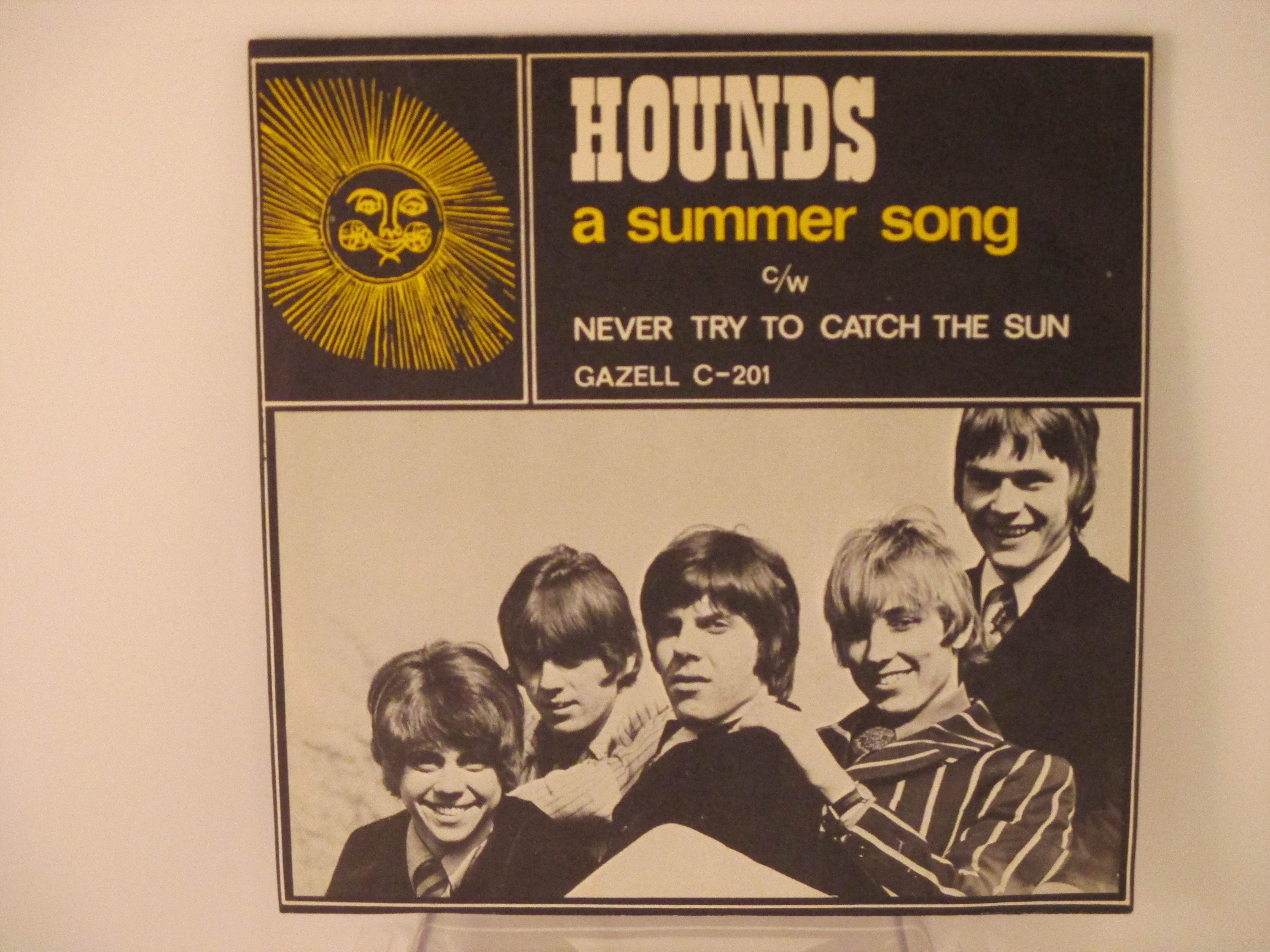 HOUNDS : A summer song / Never try to catch the sun