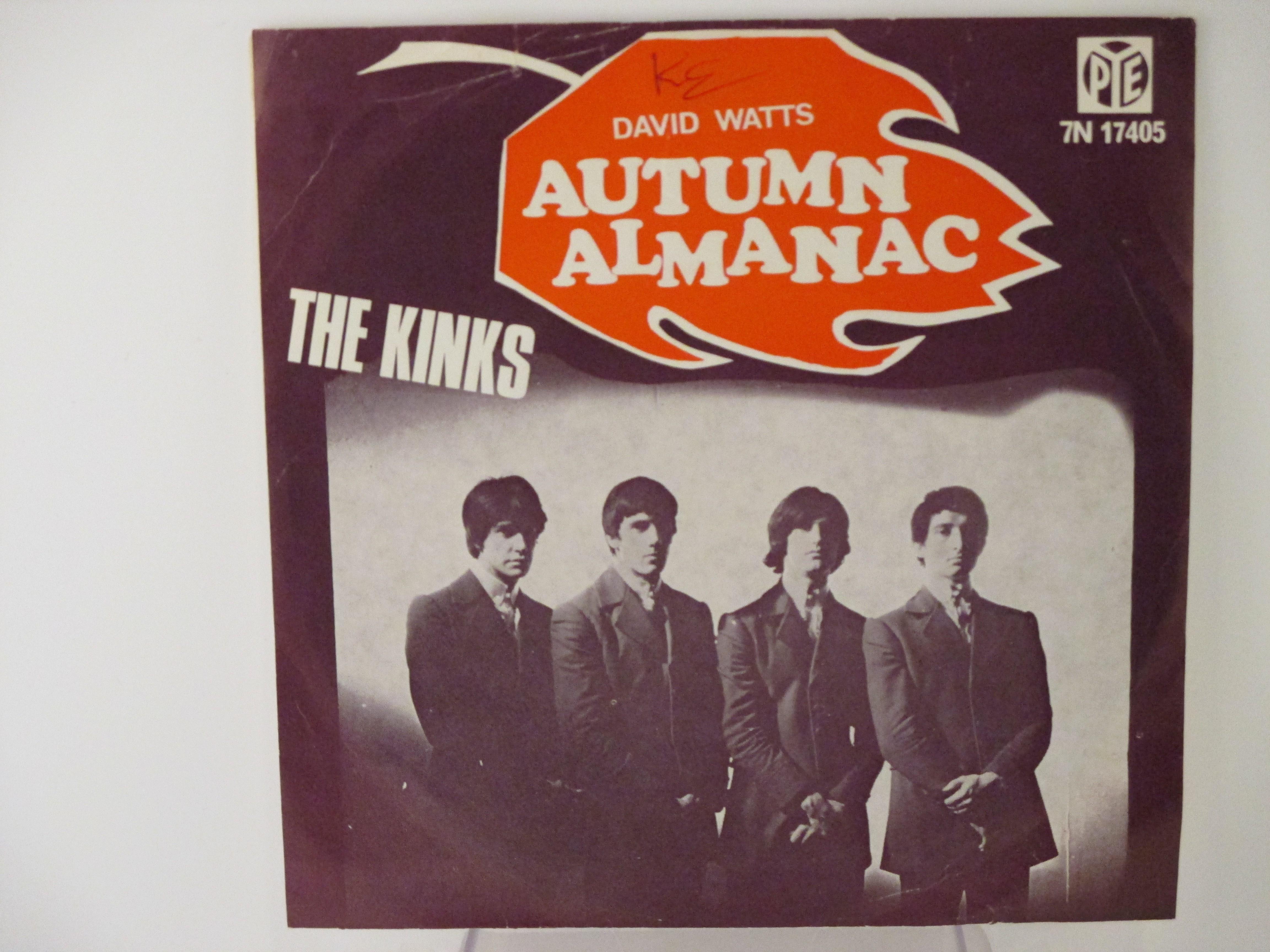 KINKS : Autumn almanac / David Watts