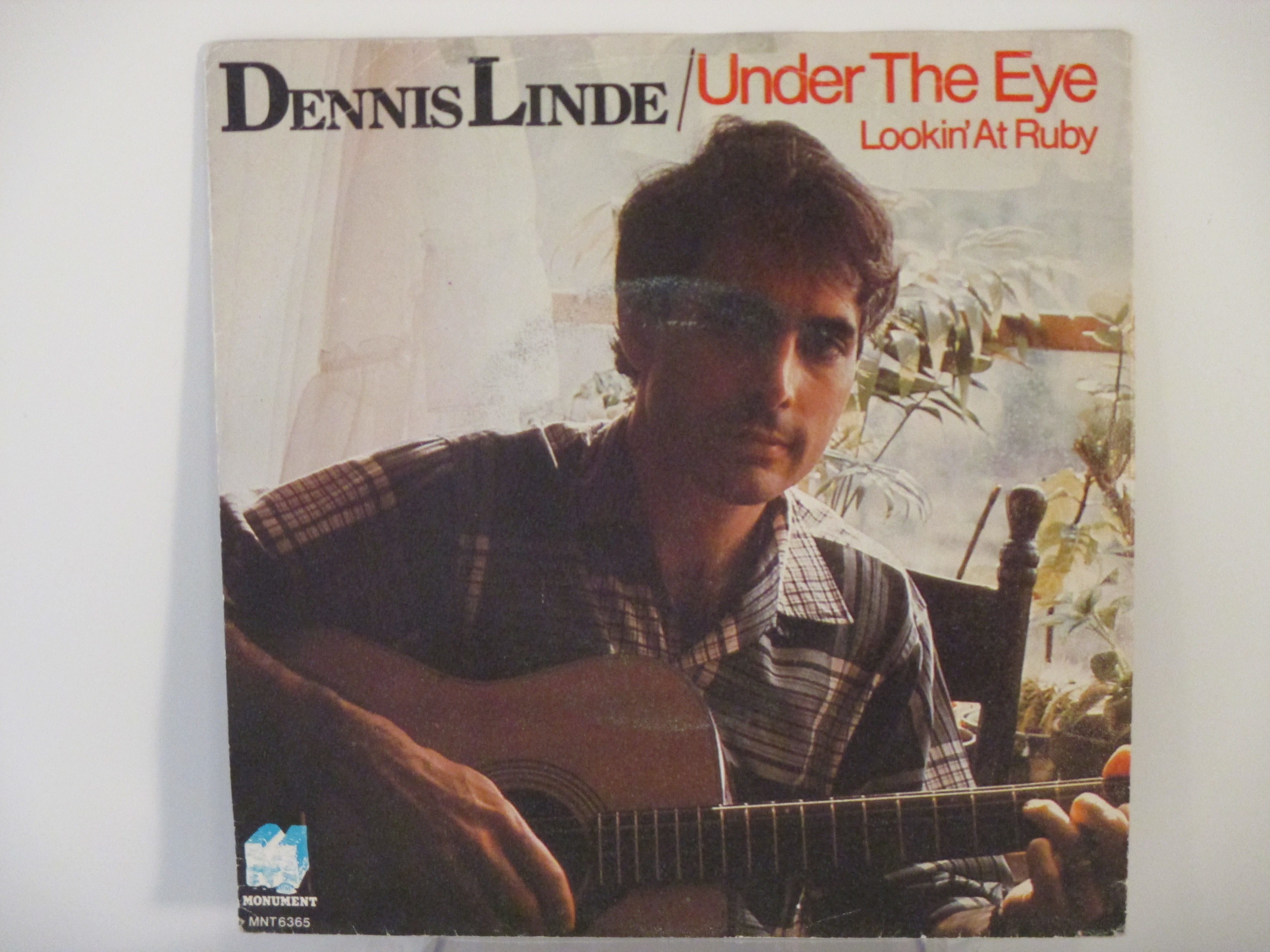 DENNIS LINDE : Under the eye / Lookin' at Ruby