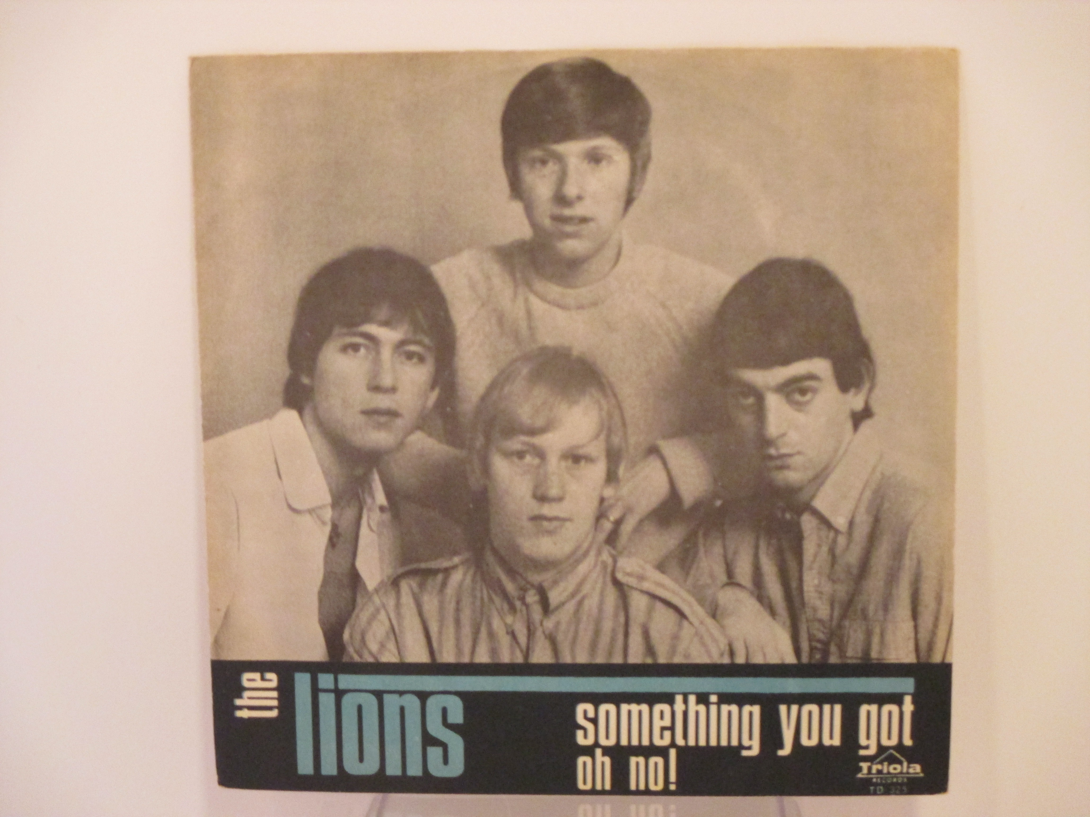 LIONS : Oh no ! / Something you got