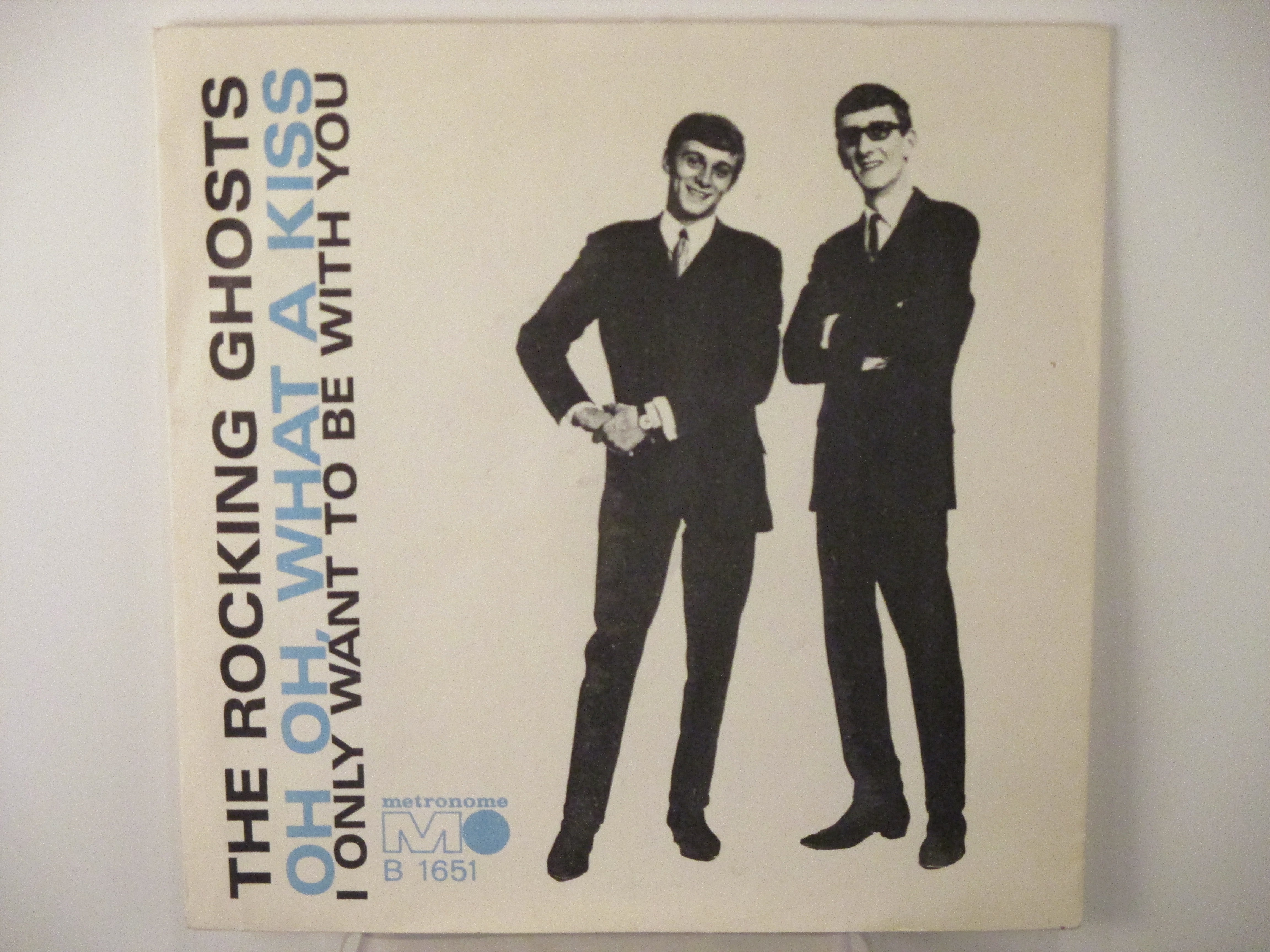 ROCKING GHOSTS :  I only want to be with you / Oh oh what a kiss