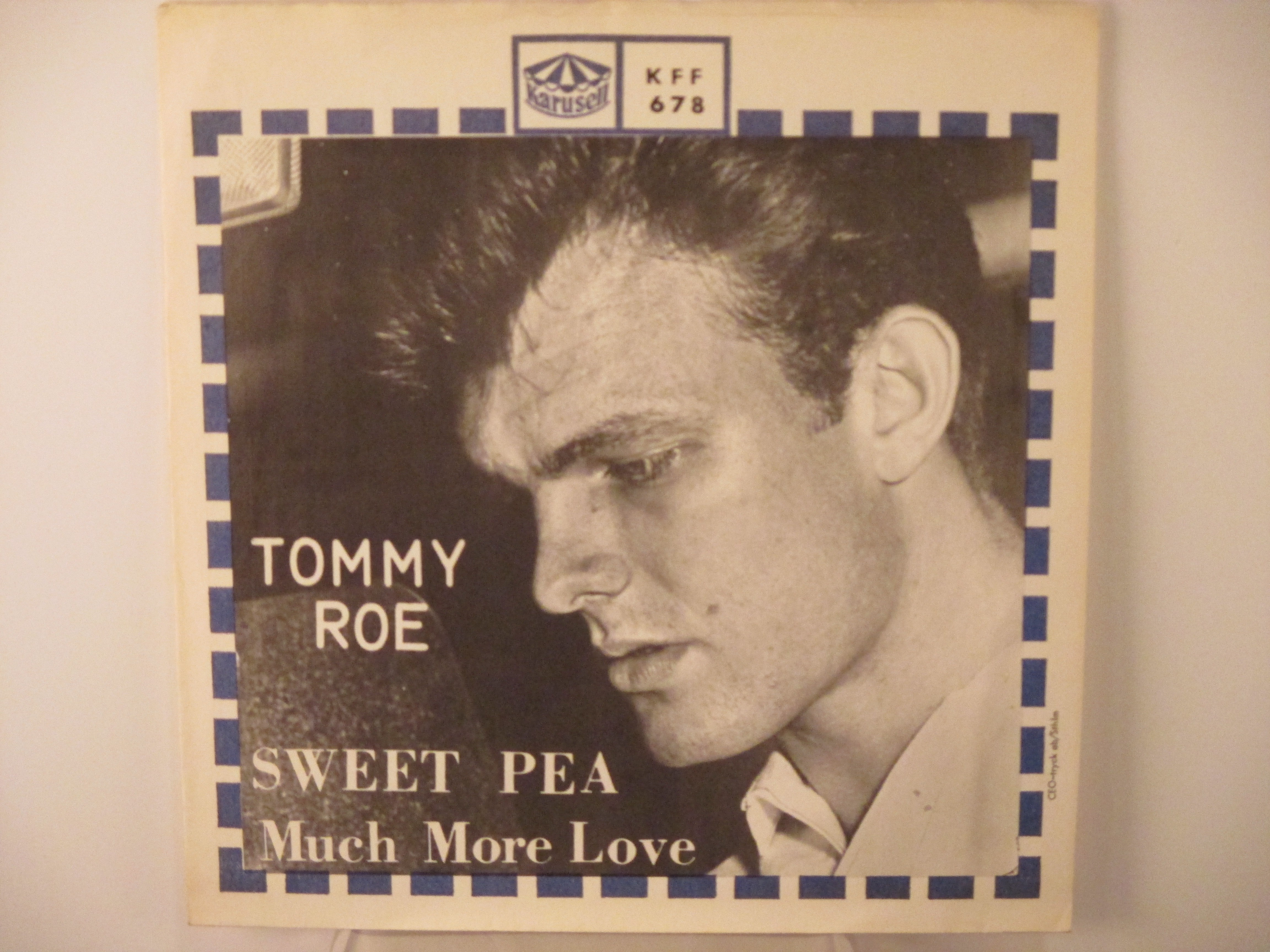 TOMMY ROE : Sweet Pea / Much more love