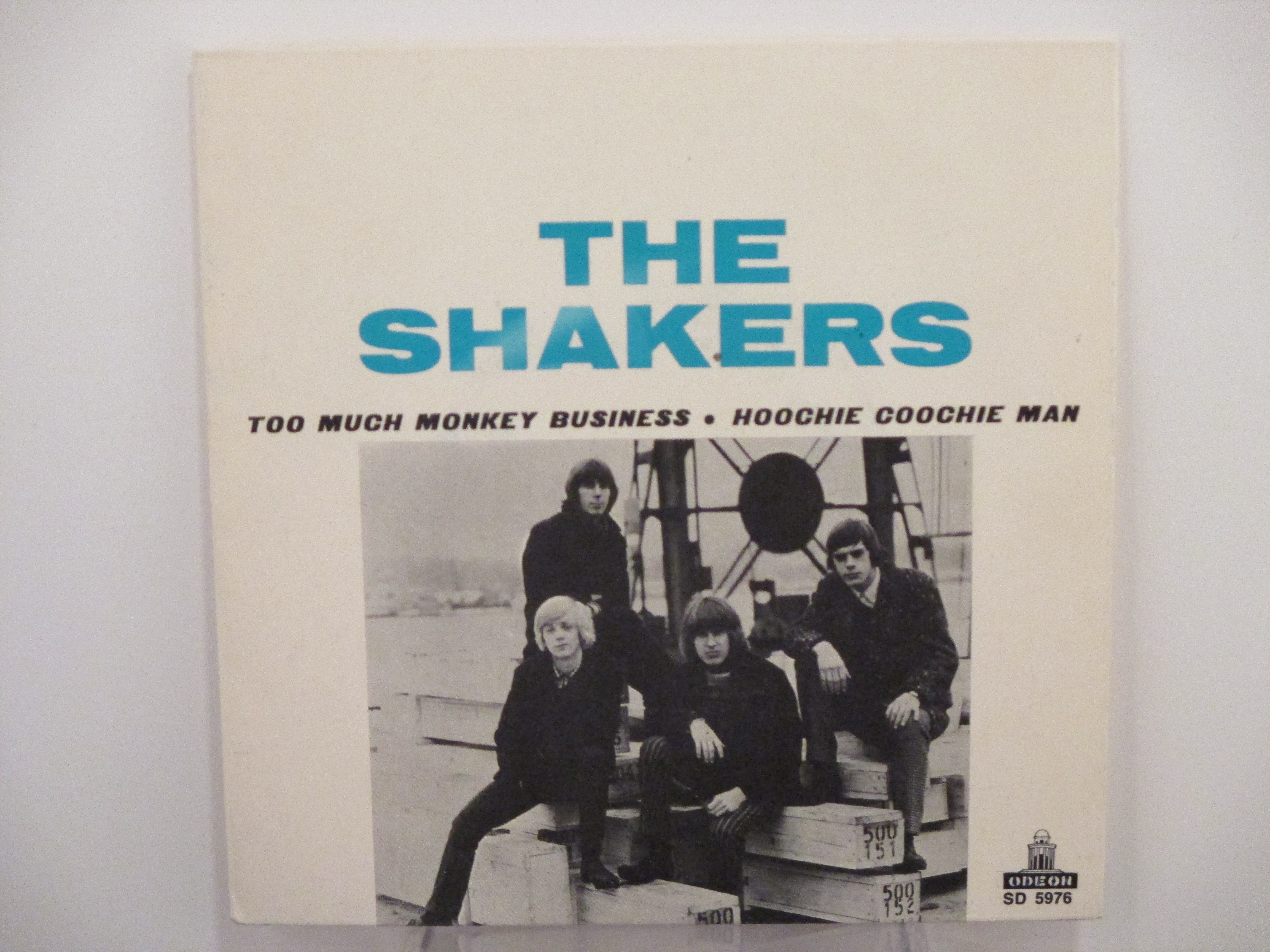 SHAKERS : Too much monkey business / Hoochie coochie man