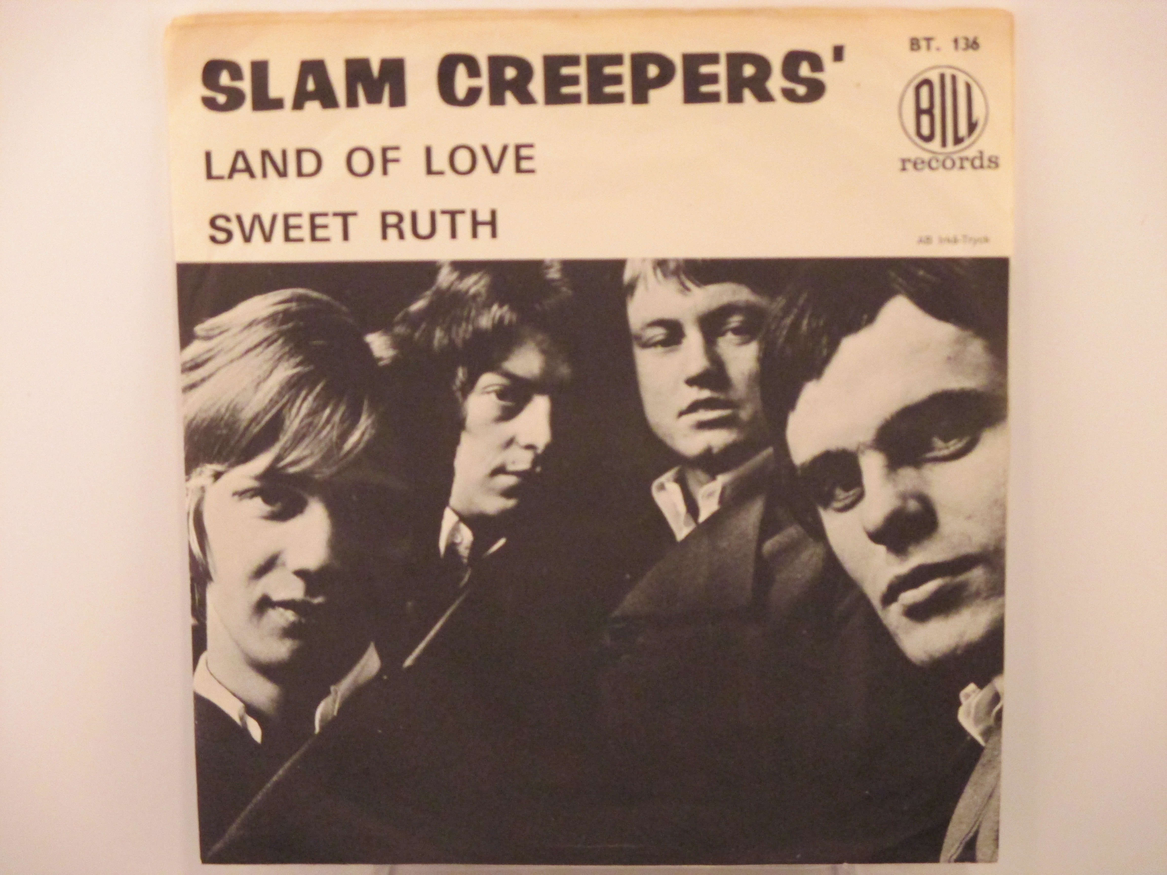 SLAM CREEPERS : Land of love / Sweet Ruth