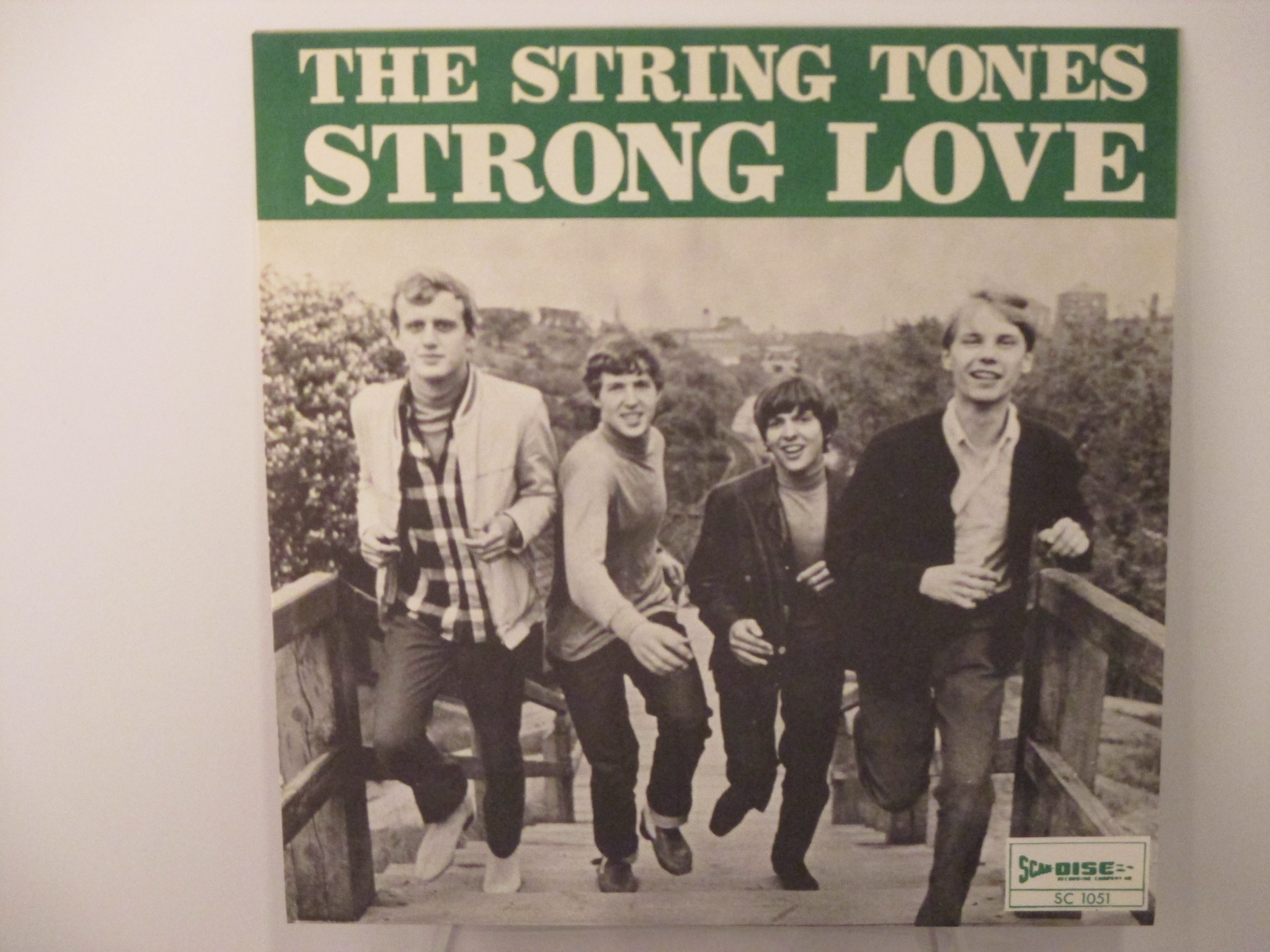 STRING TONES : Strong love / This hammer