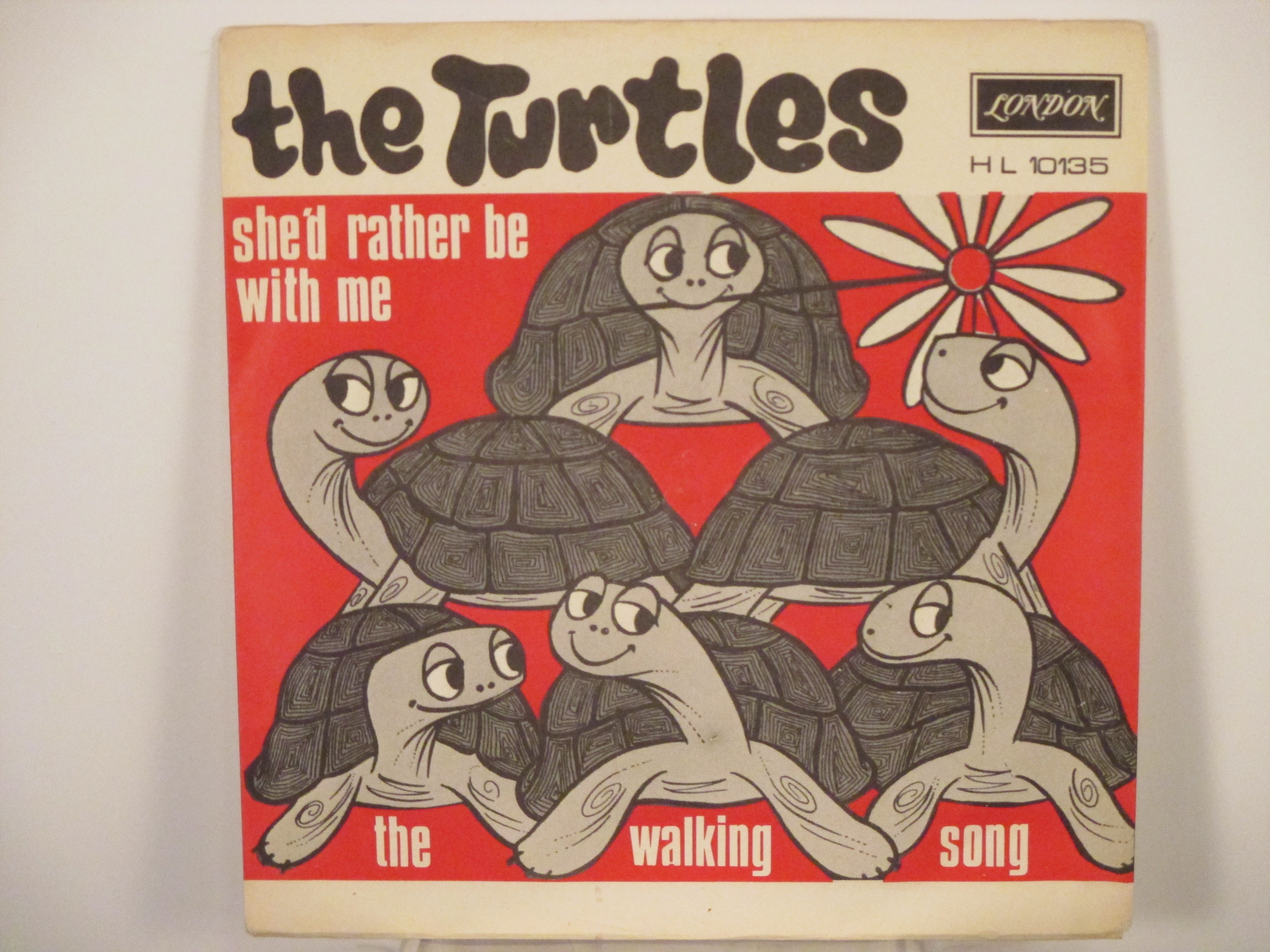 TURTLES : She'd rather be with me / The walking song