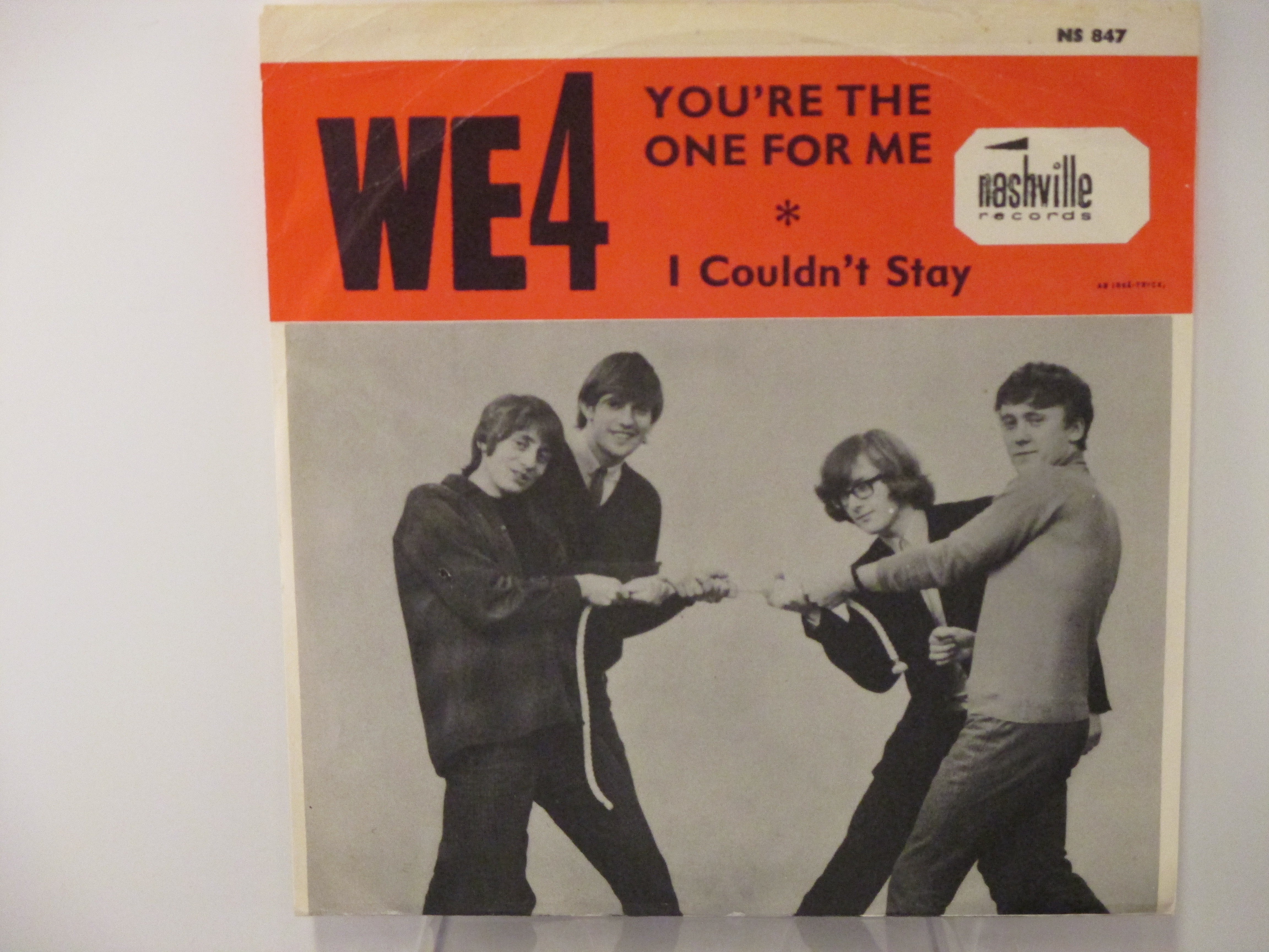 WE 4 :  I couldn't  wait / You're the one for me