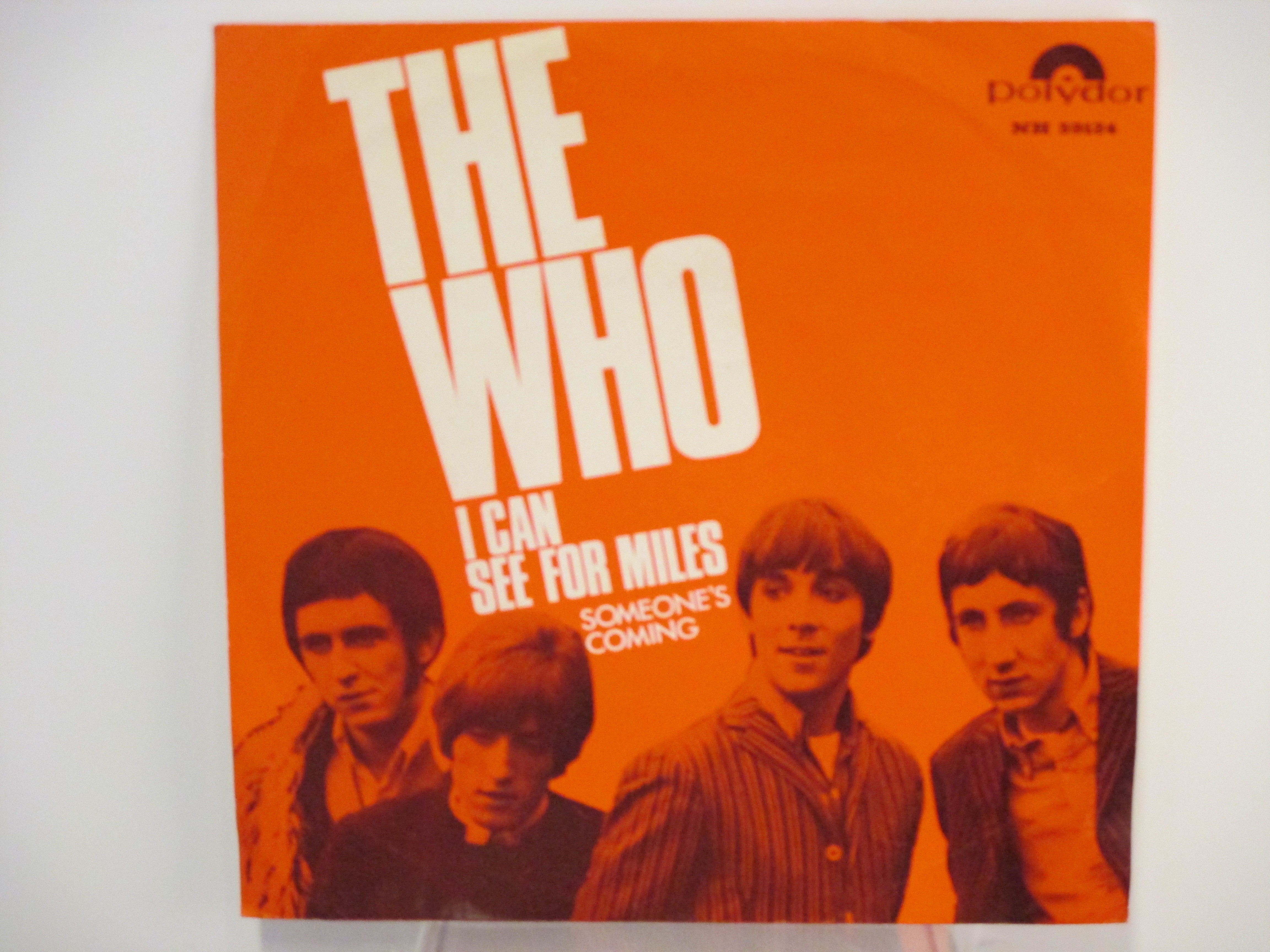 WHO The: I can see for miles / Someone's coming