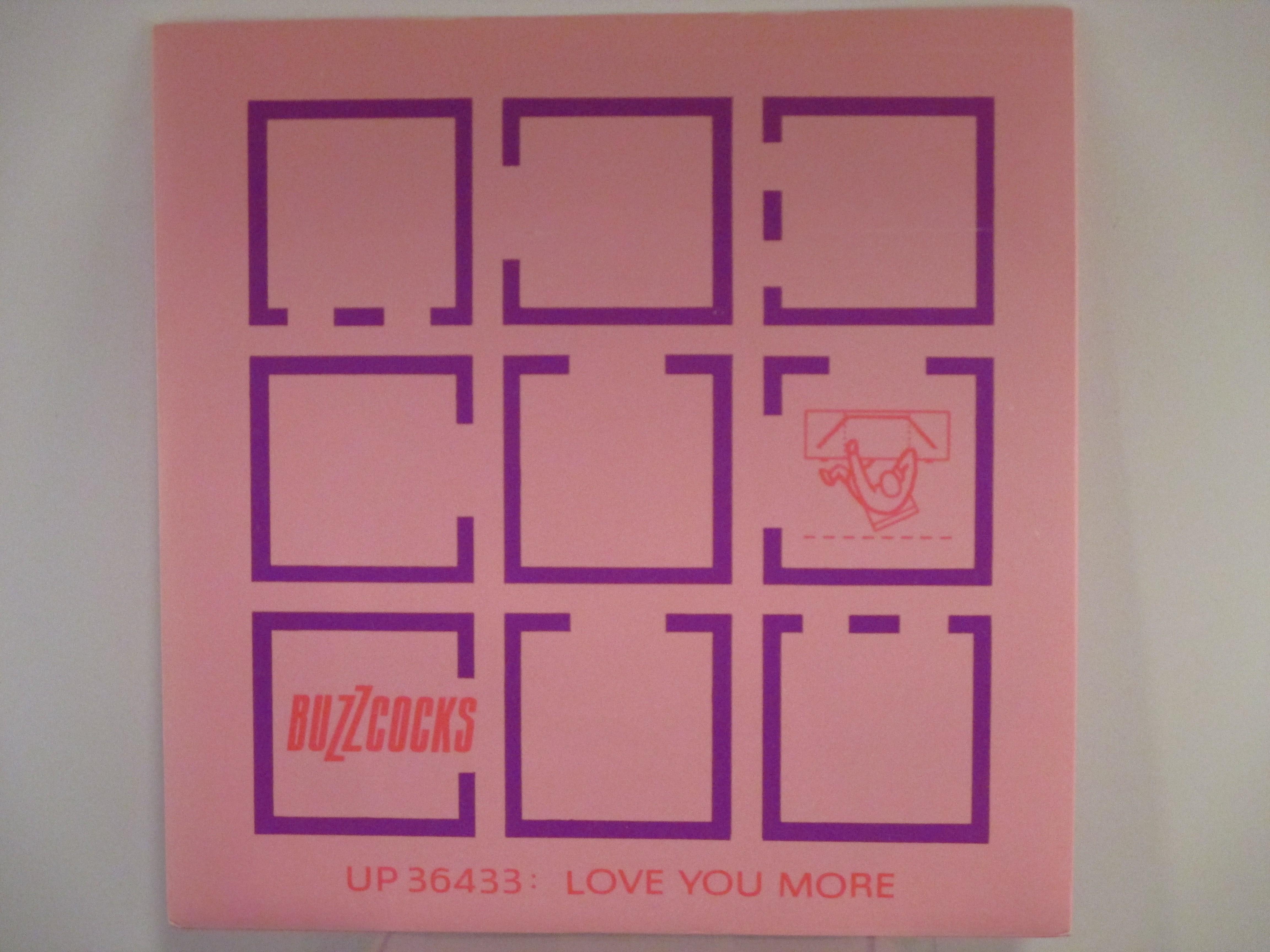 BUZZCOCKS : Love you more / Noise annoys