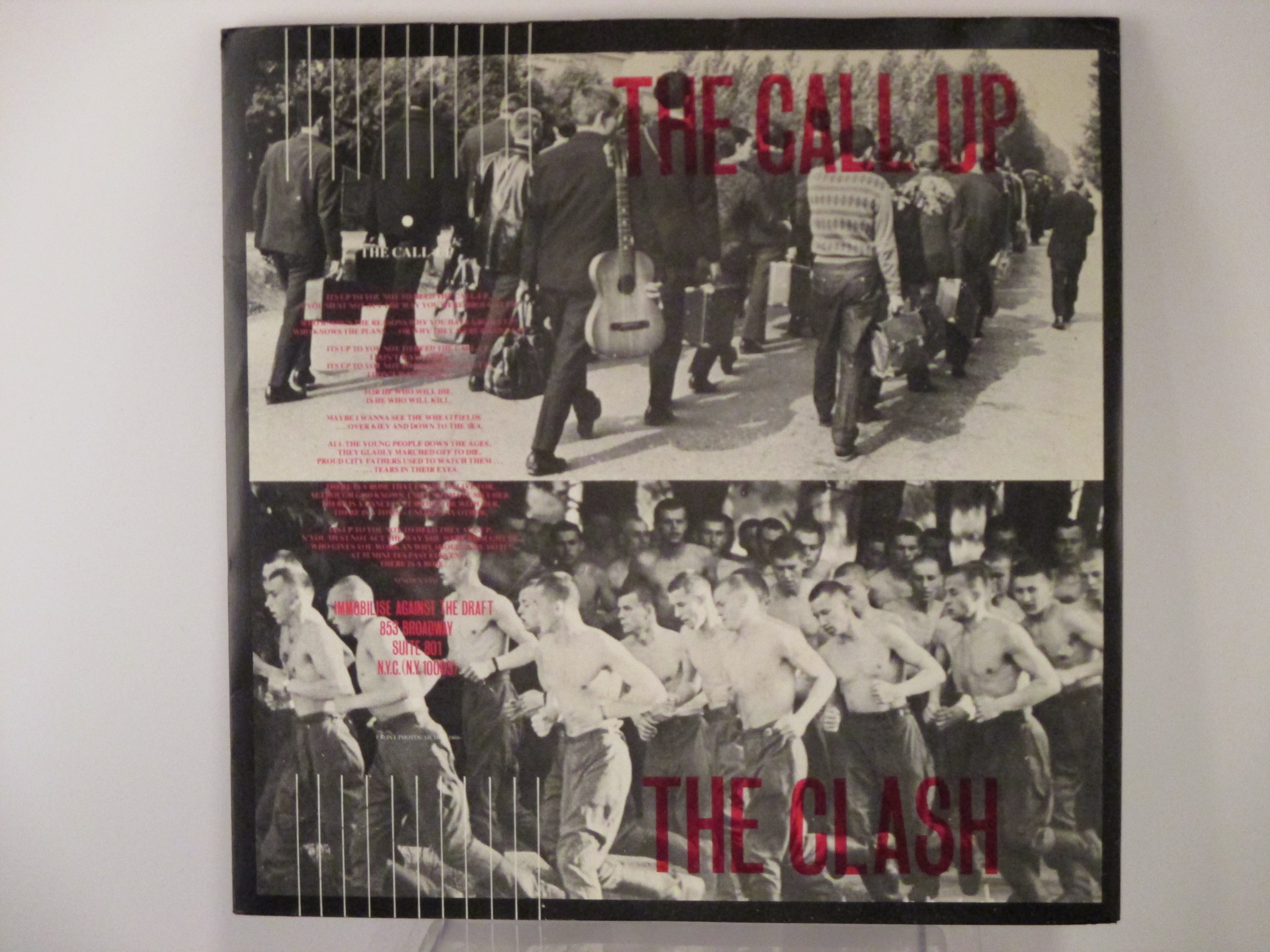 CLASH : The call up / Stop the world