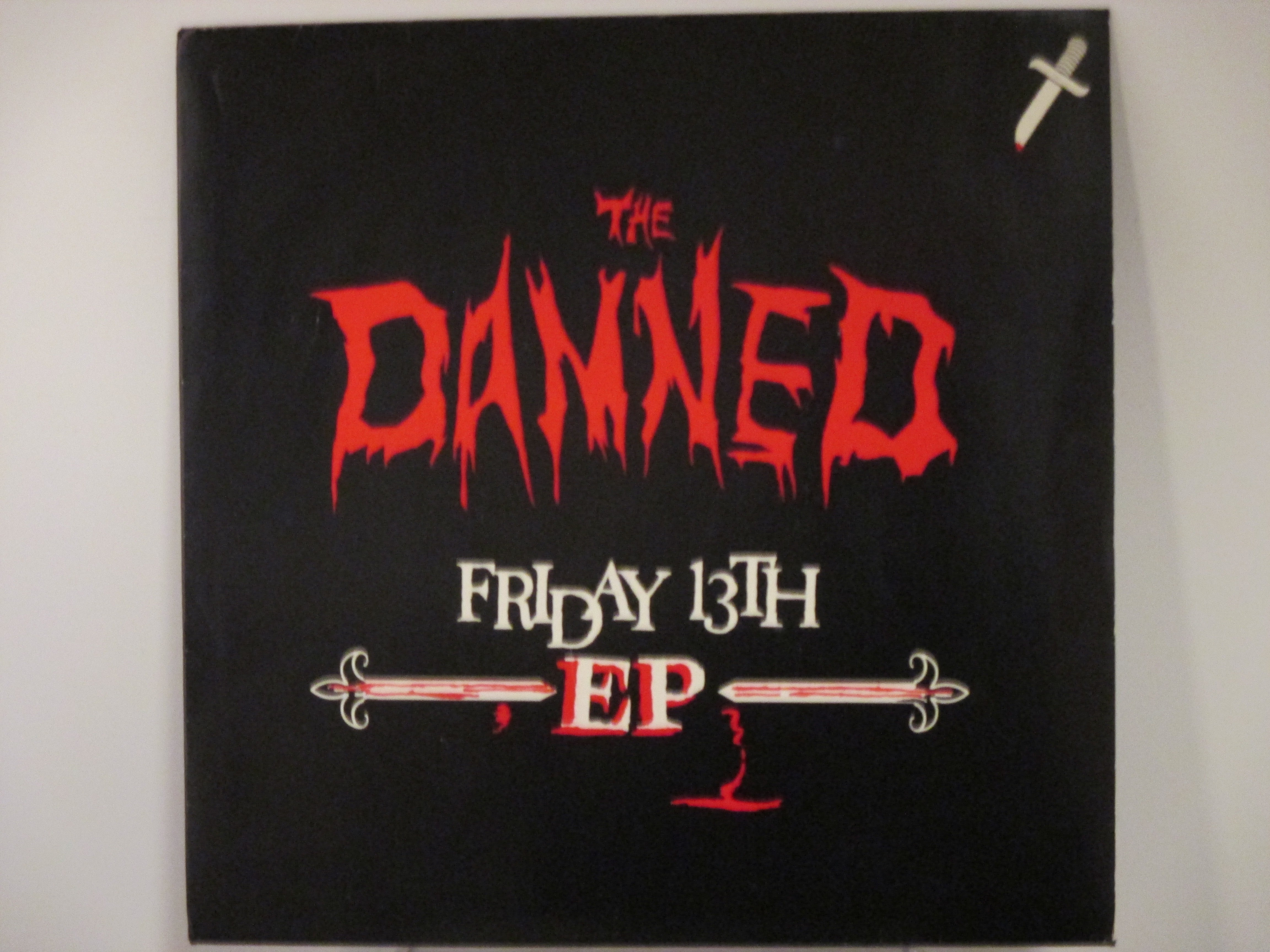 """DAMNED : (EP) """" Friday 13th"""" Disco man / The limit club / Billy bad breakes / Citadel"""