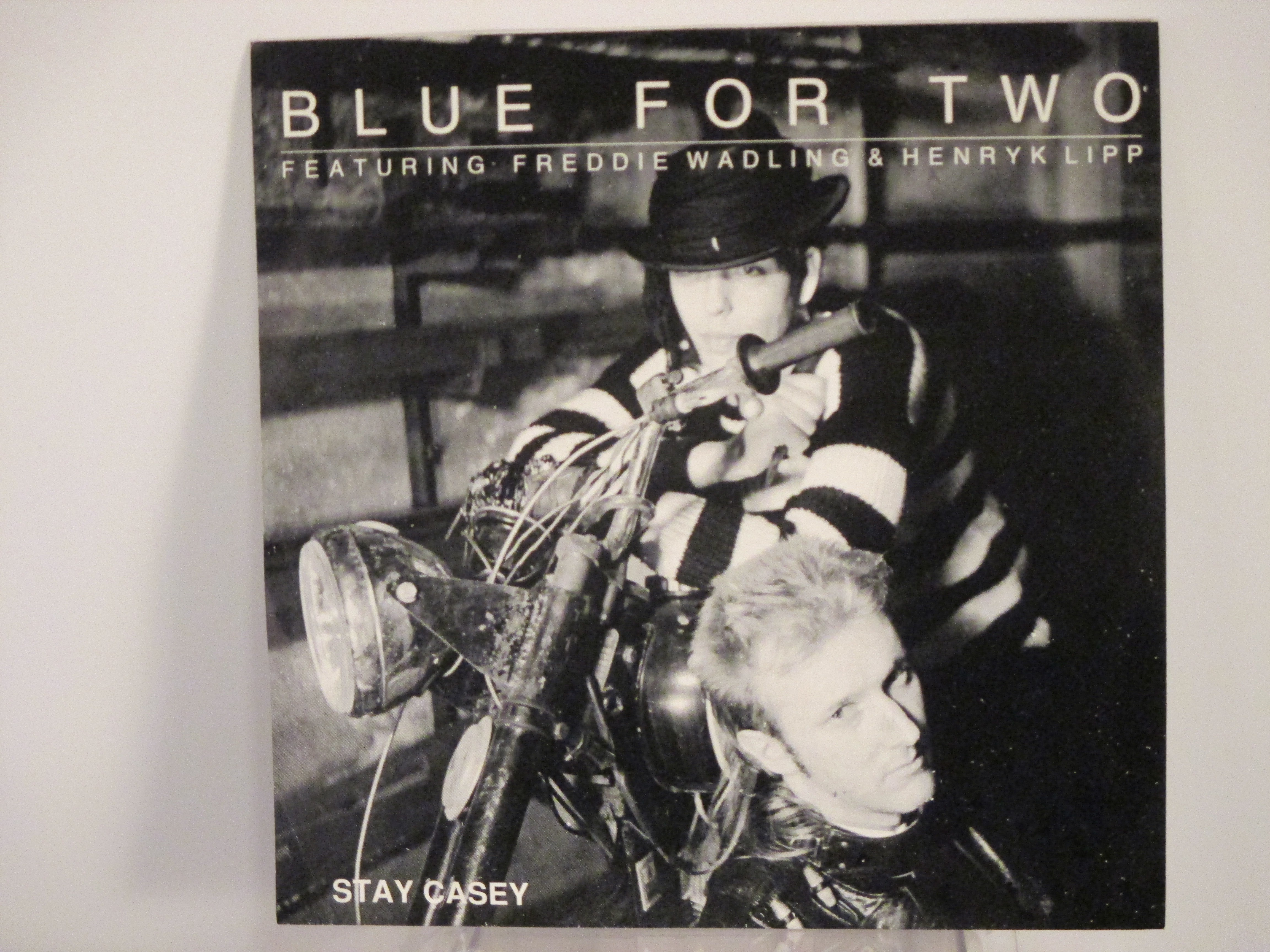 BLUE FOR TWO : Stay Casey / Manson moon
