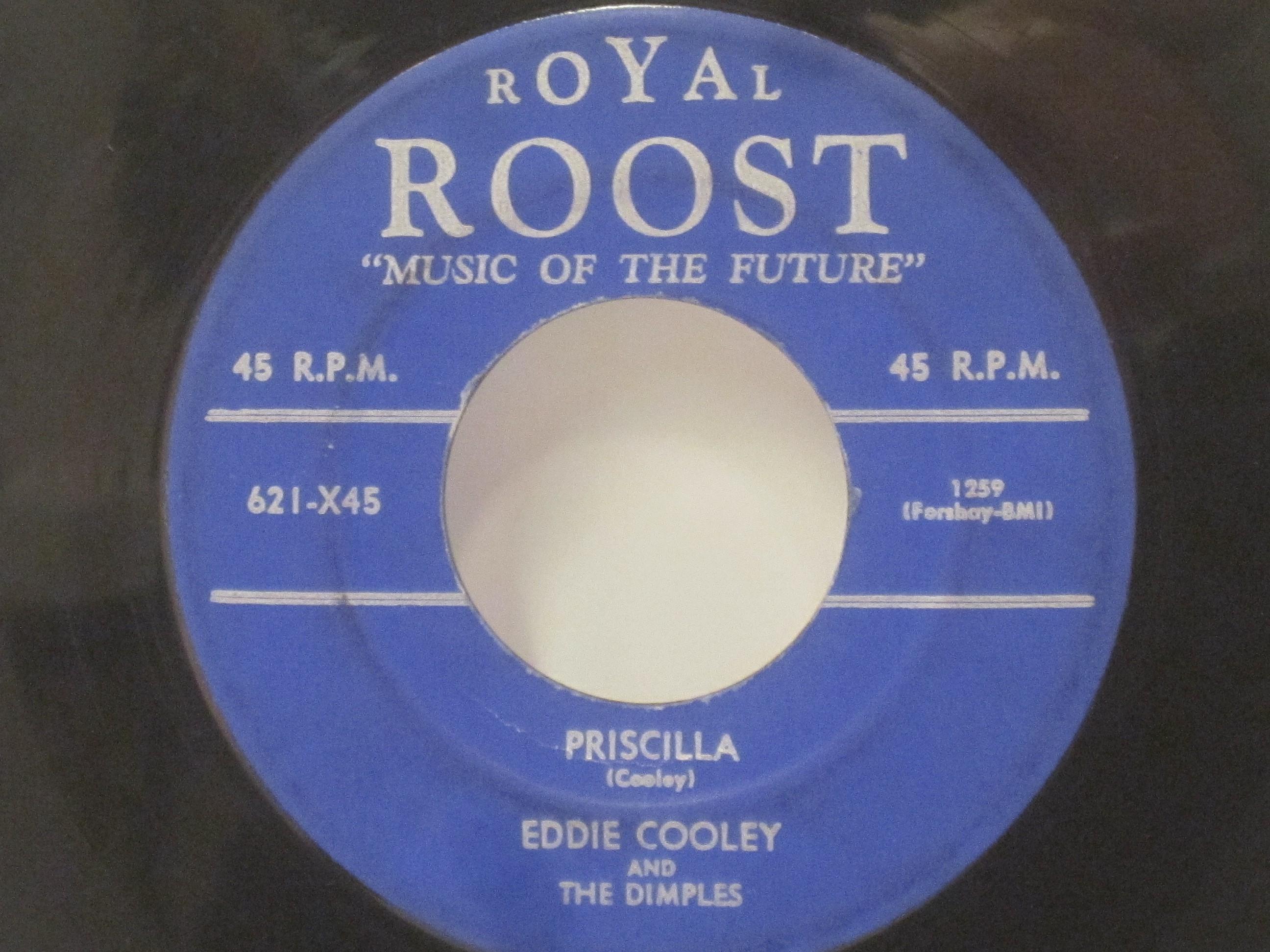 EDDIE COOLEY & DIMPLES : Priscilla / Got a little woman