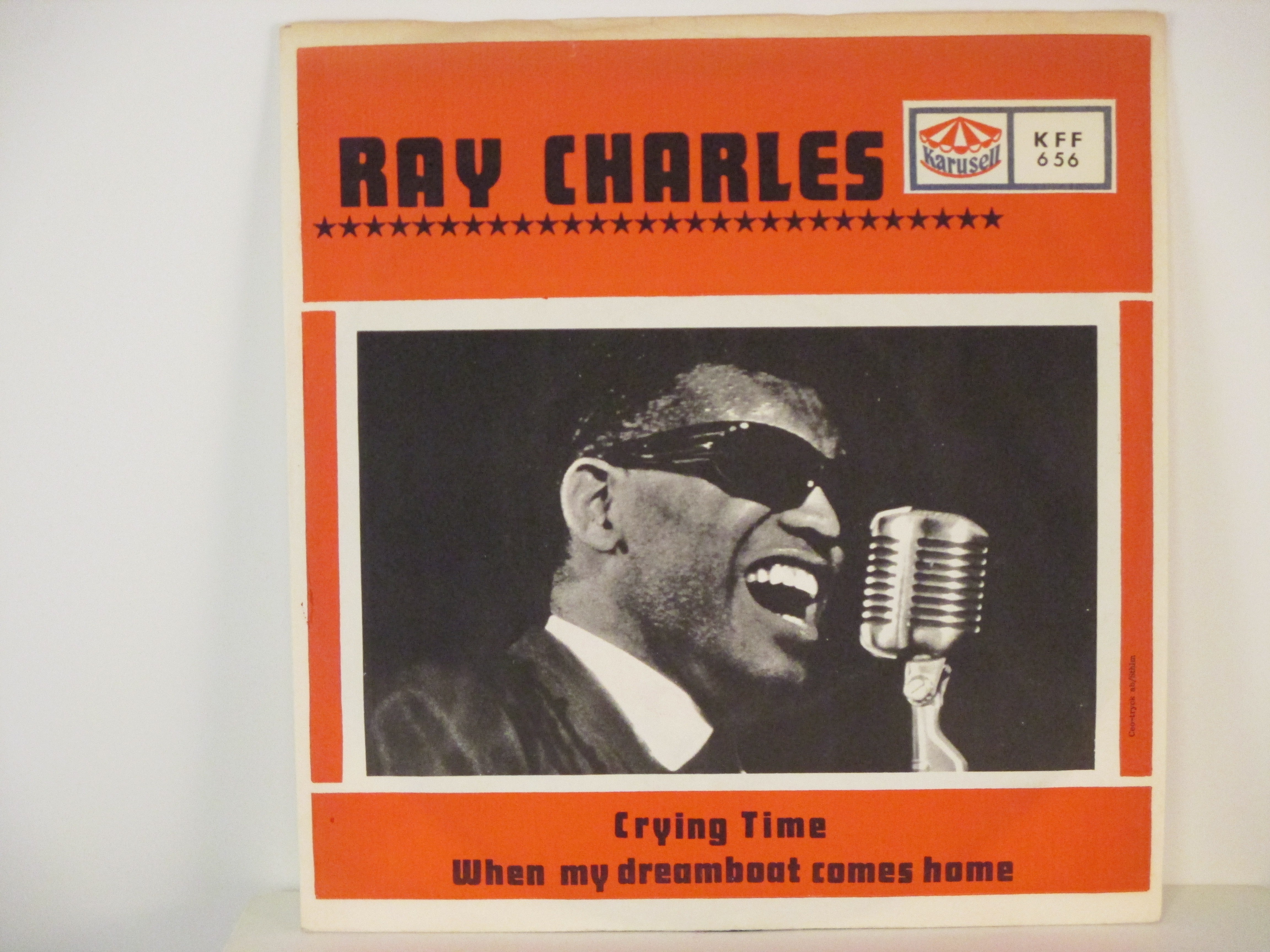 RAY CHARLES : Crying time / When my dreamboat comes home