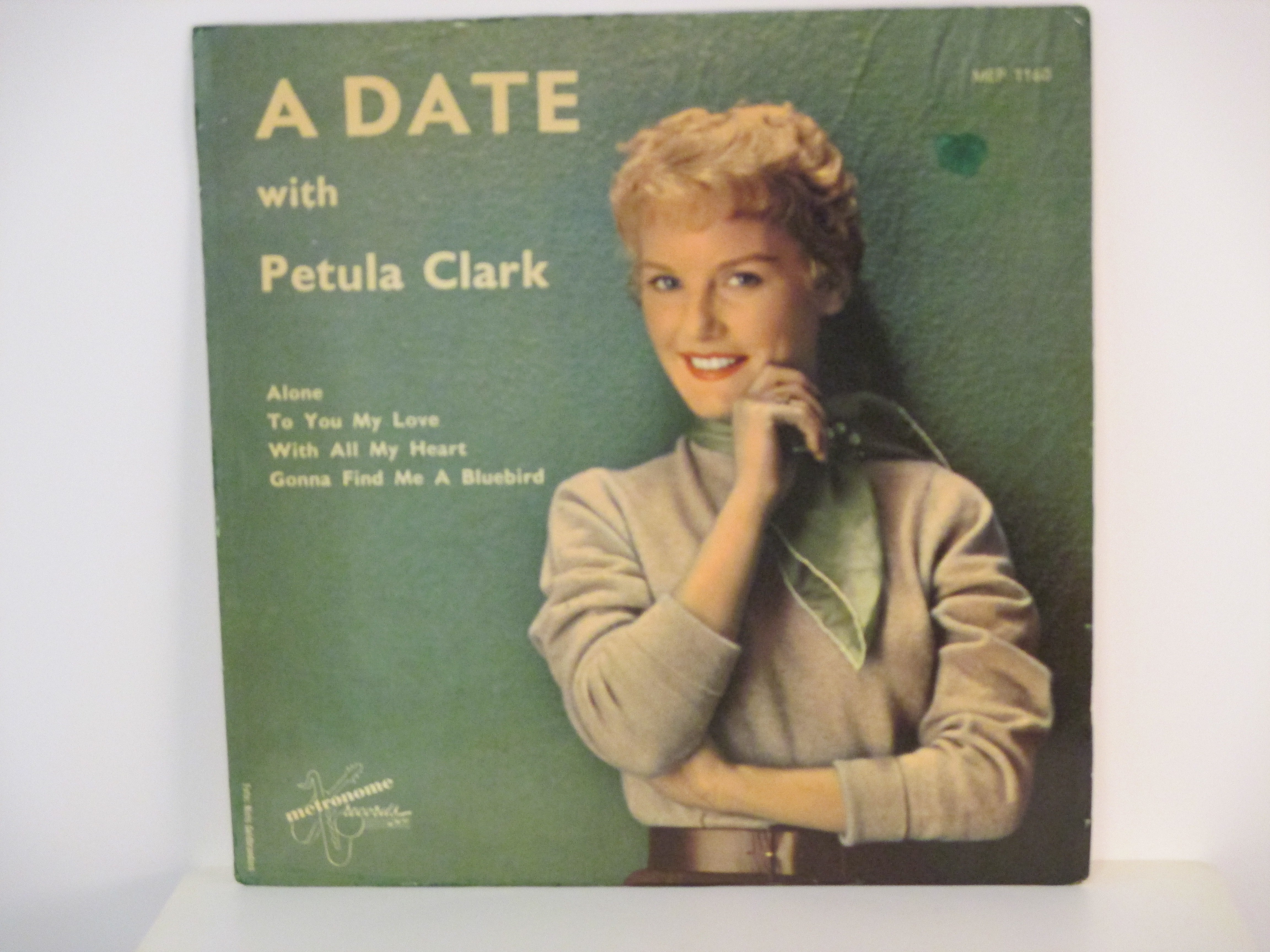 PETULA CLARK : (EP) Alone / To you my love / With all my heart / Gonna find me a bluebird