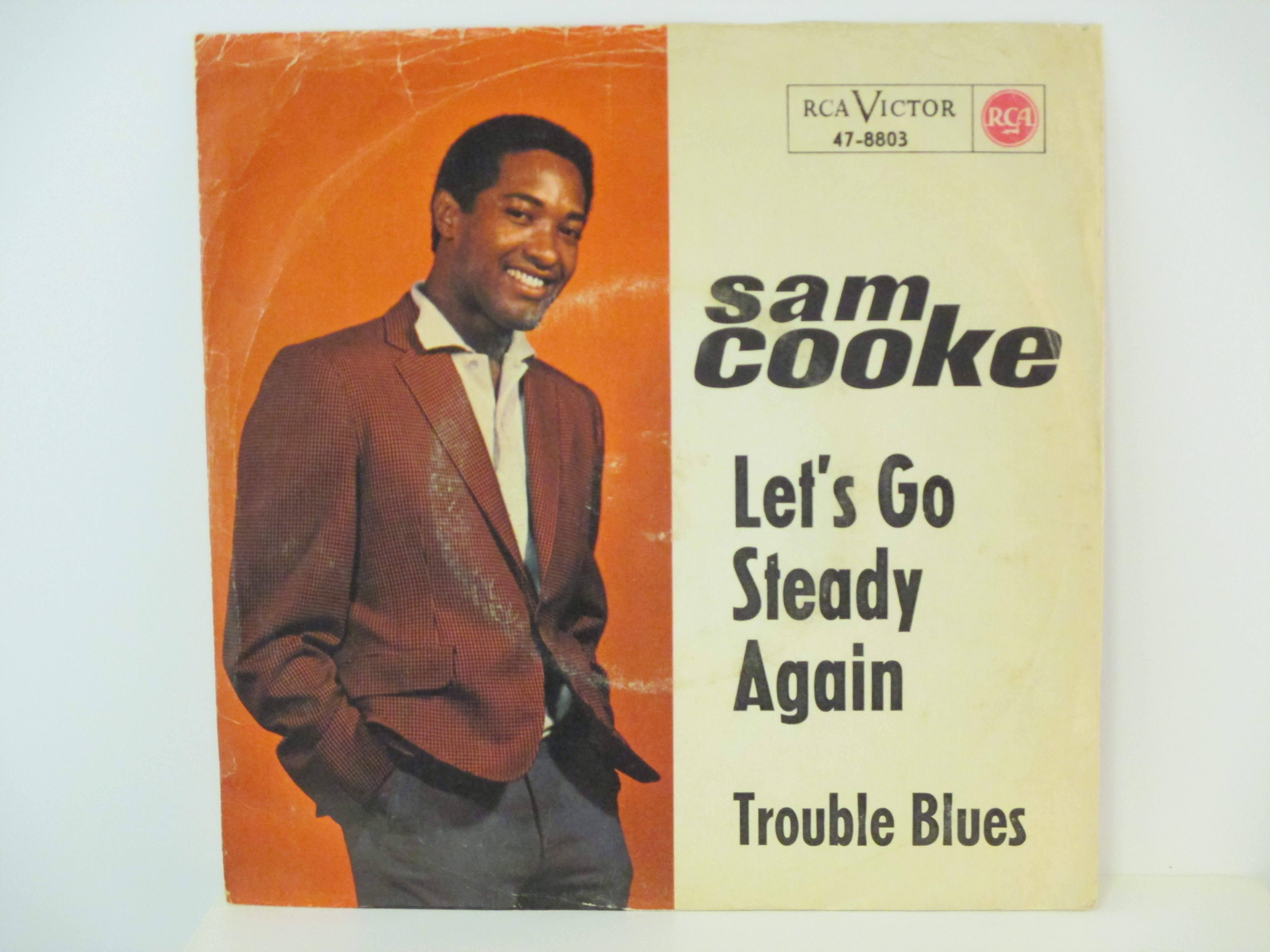 SAM COOKE : Let's go steady again / Trouble blues