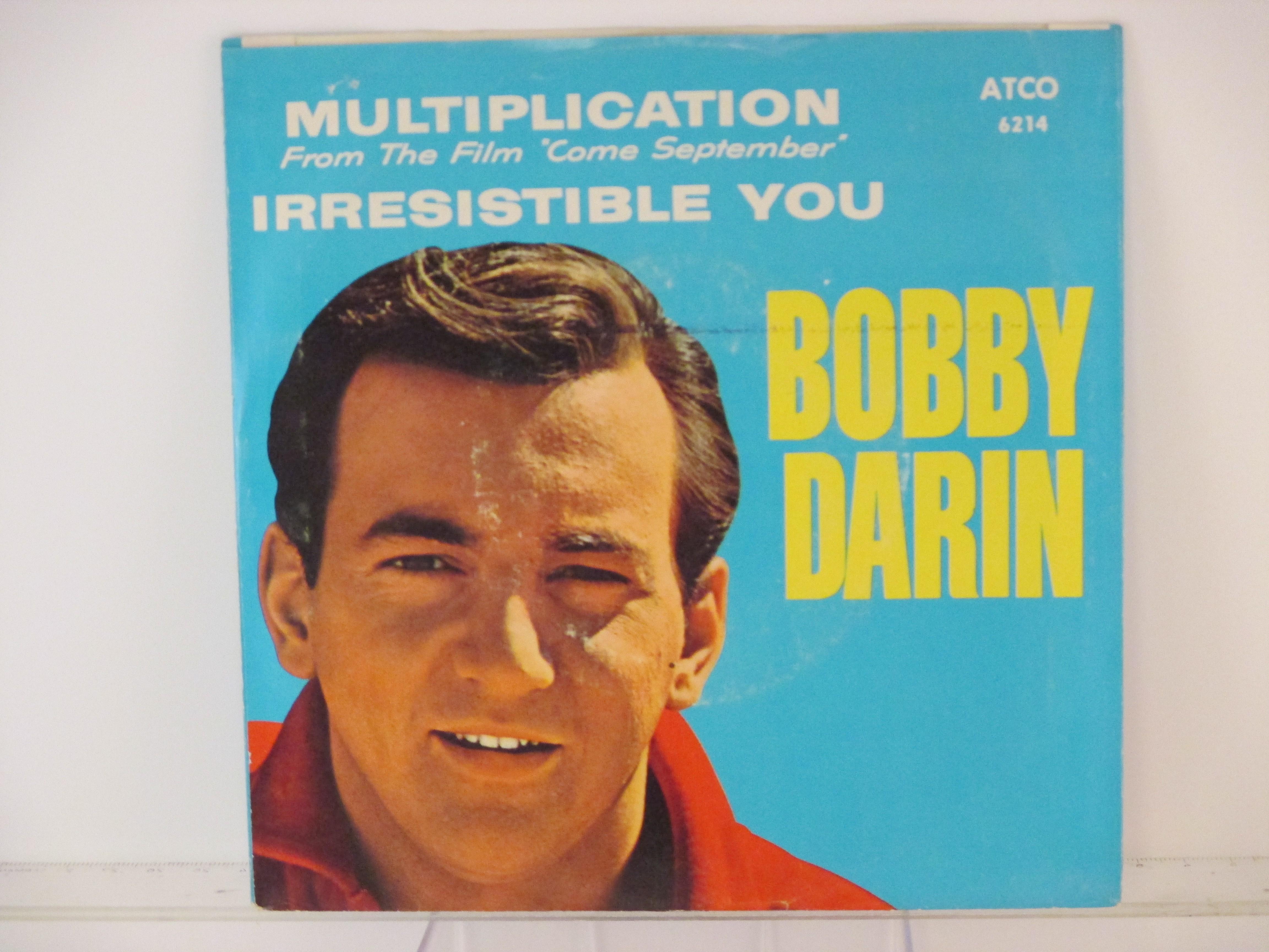 BOBBY DARIN : Multiplication / Irresistible you