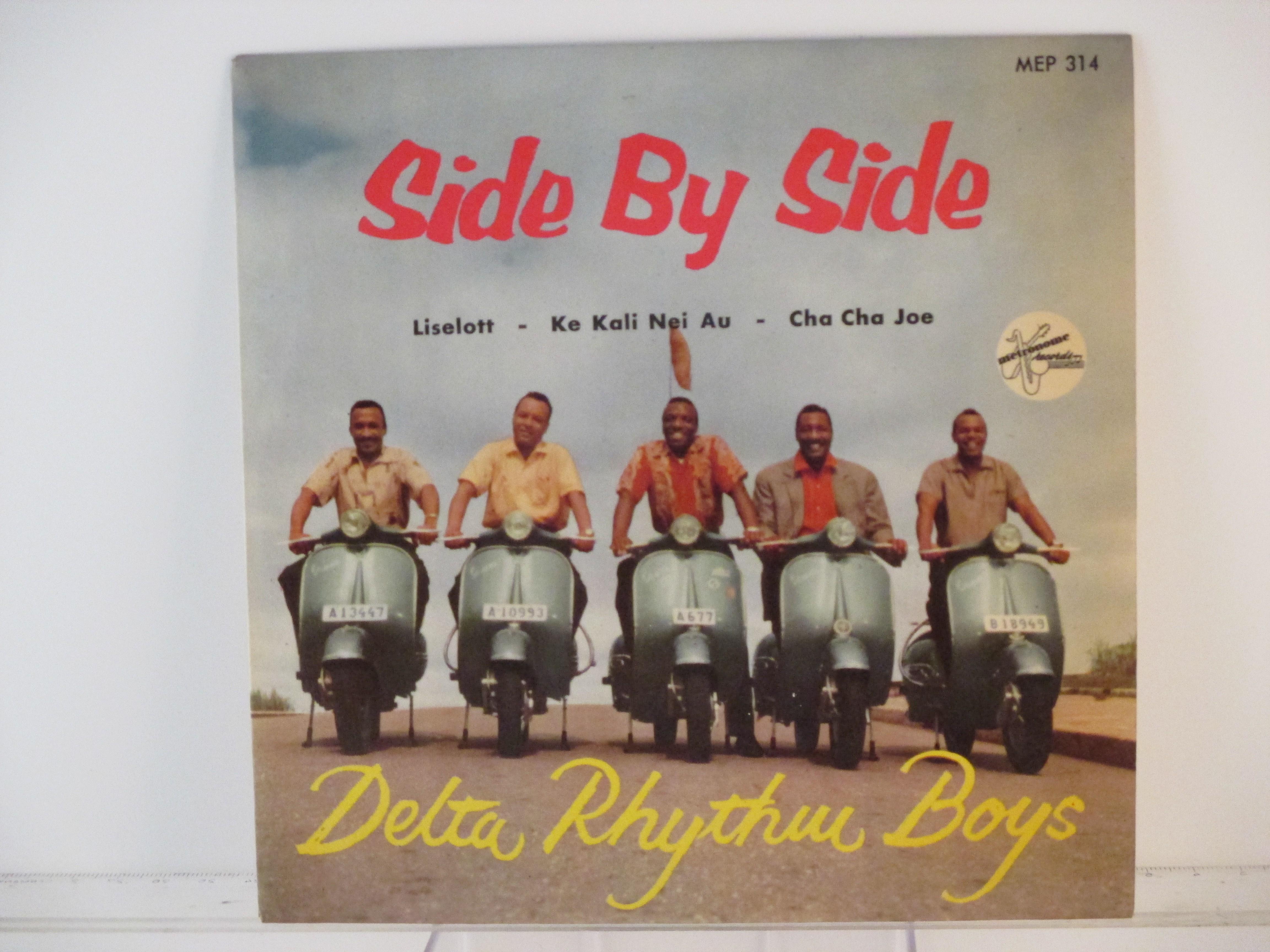 DELTA RHYTHM BOYS : (EP) Side by side / Liselott / Ke kali nei au / Cha cha Joe