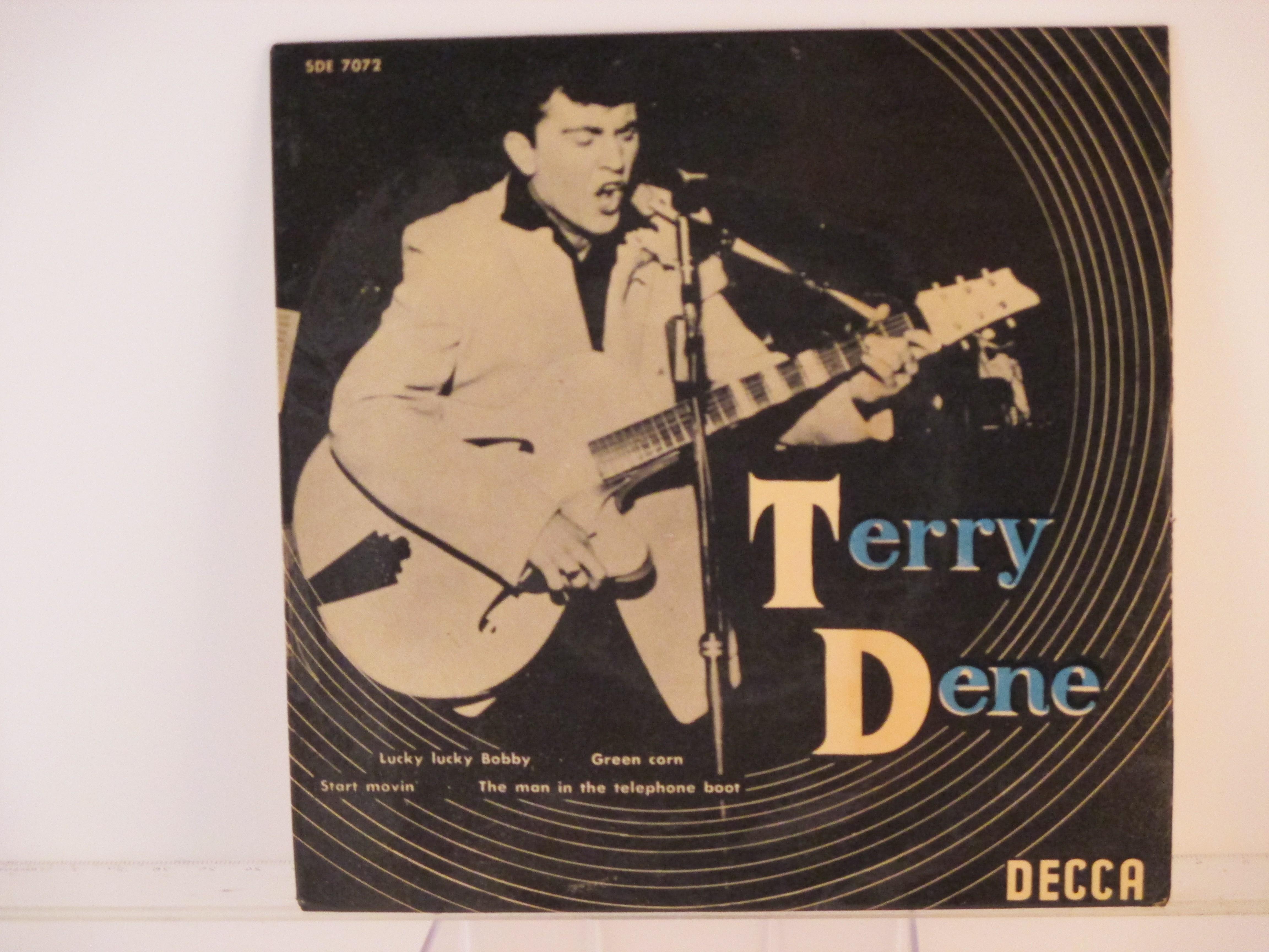 TERRY DENE : (EP) Lucky lucky Bobby / Green corn / Start movin' / The man in the telephone boot