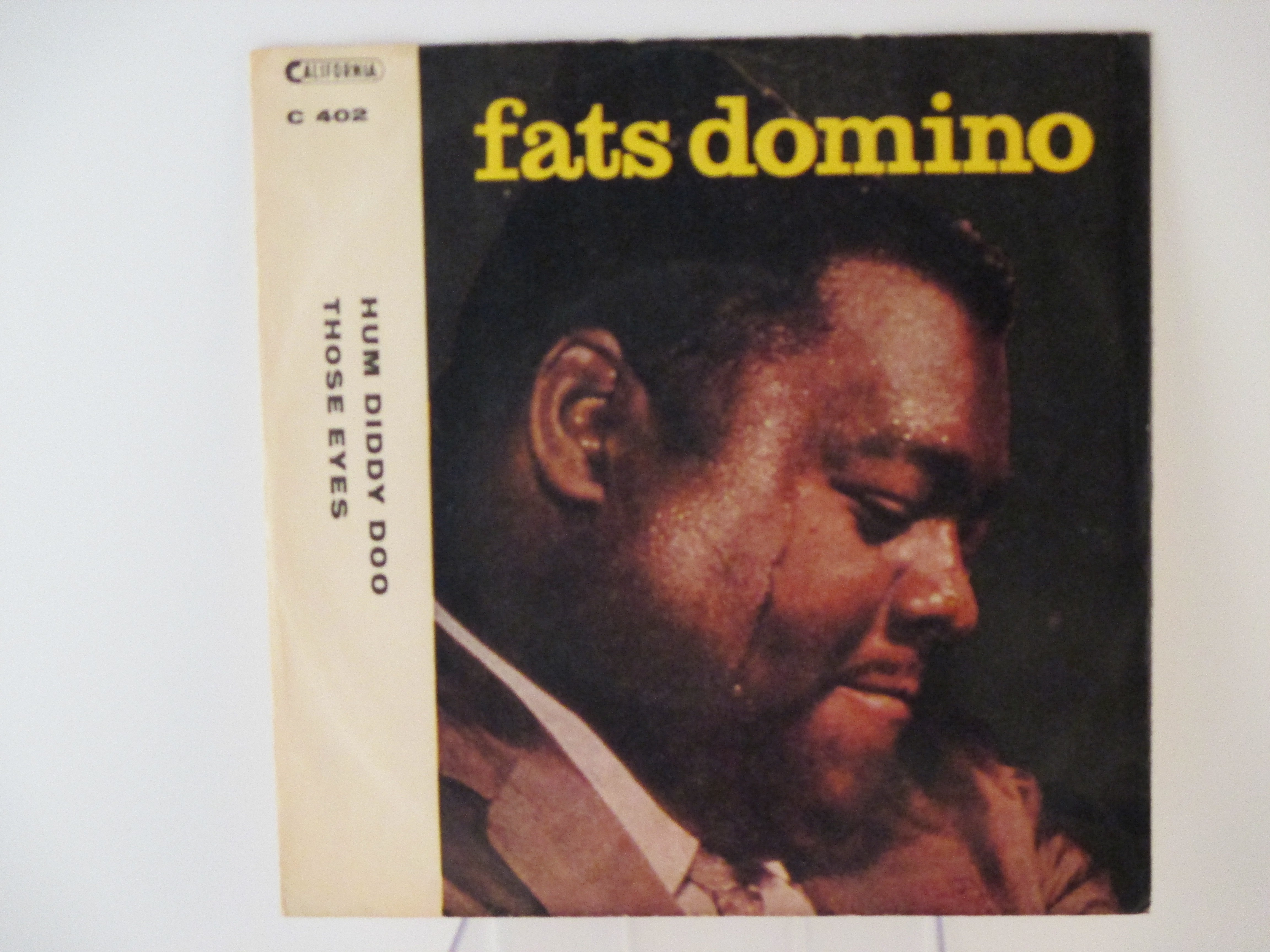 FATS DOMINO : Hum diddy doo / Those eyes