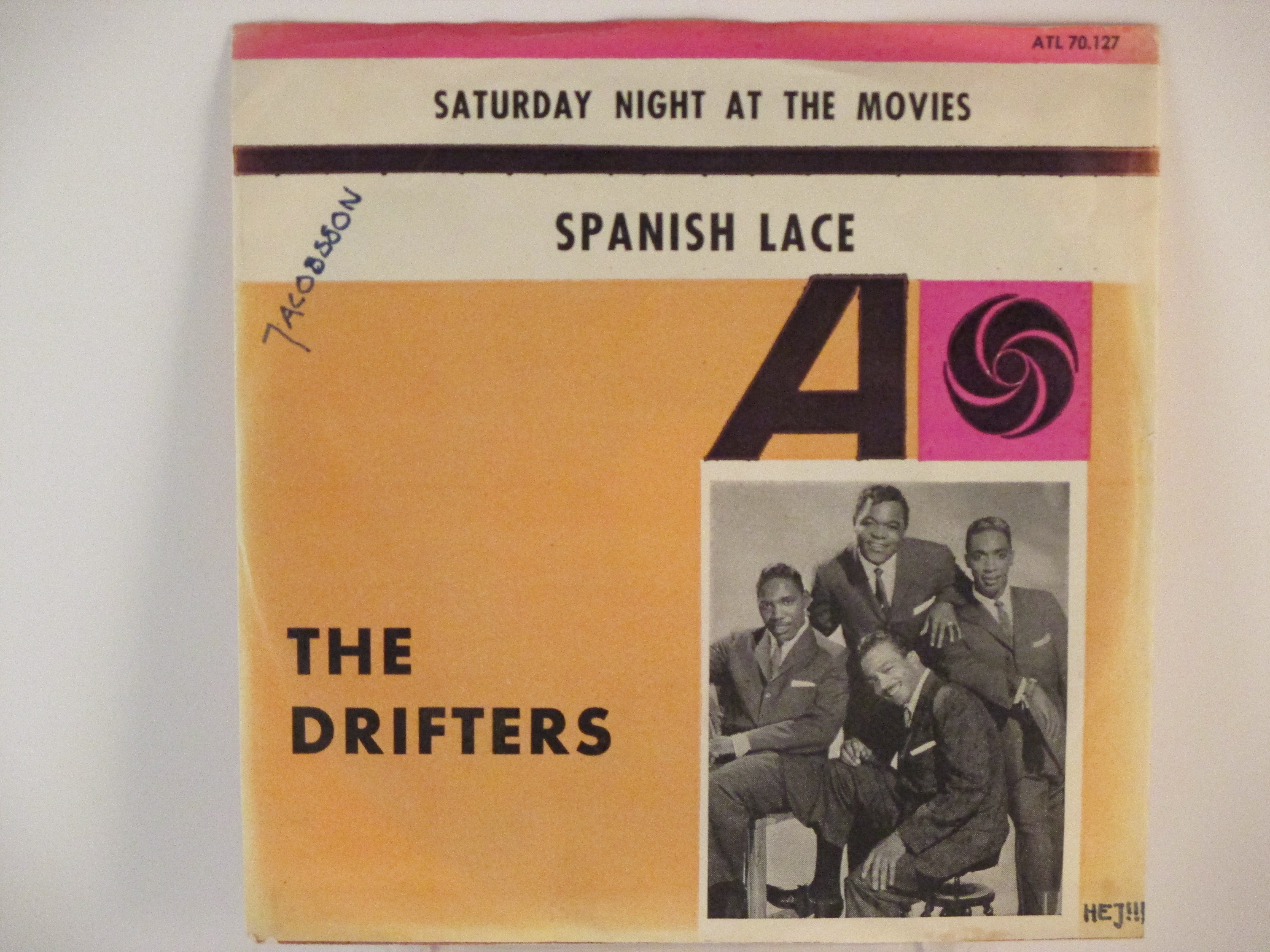 DRIFTERS : Saturday night at the movies / Spanish lace
