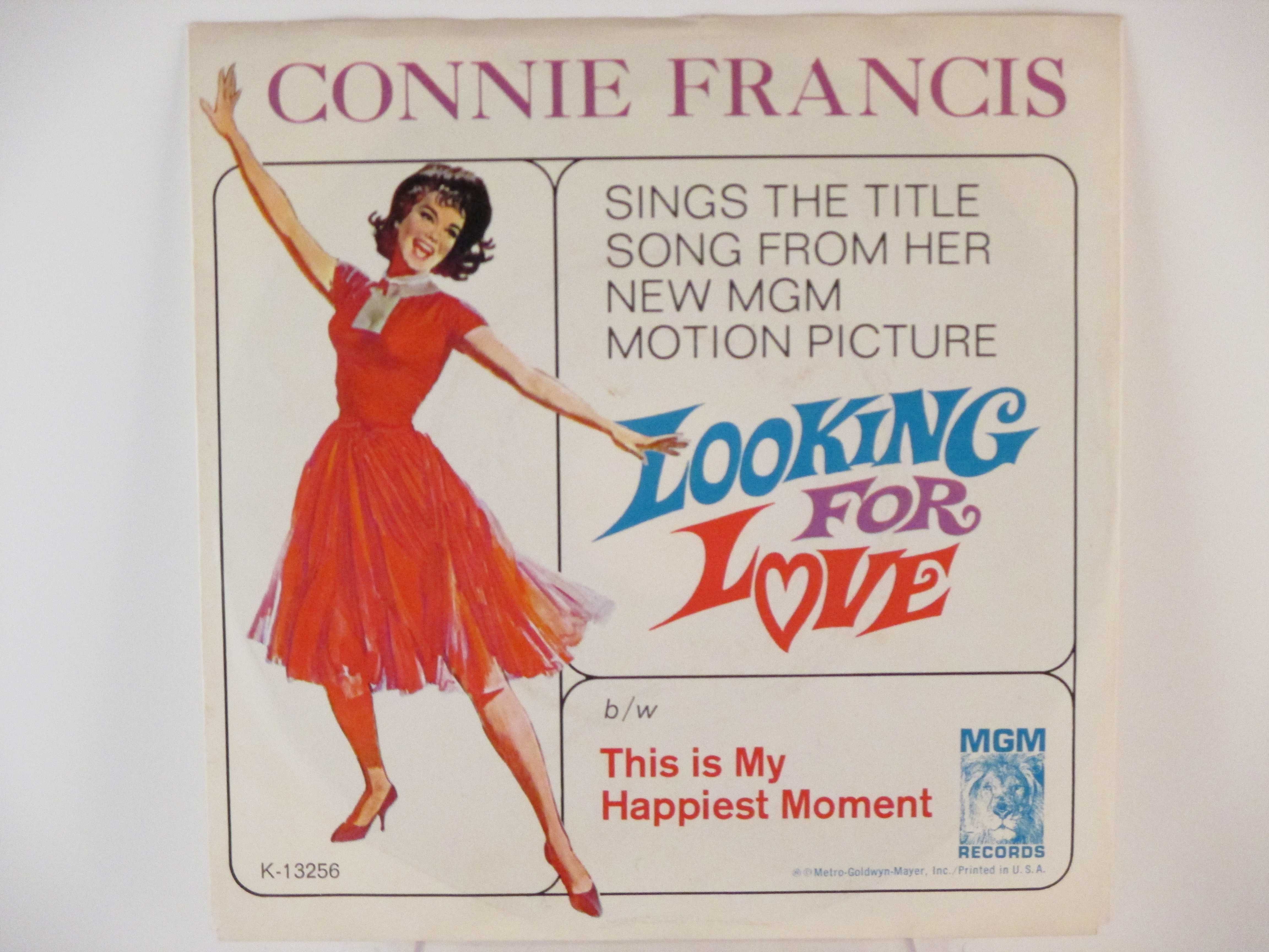 CONNIE FRANCIS : Looking for love / This is my happiest moment