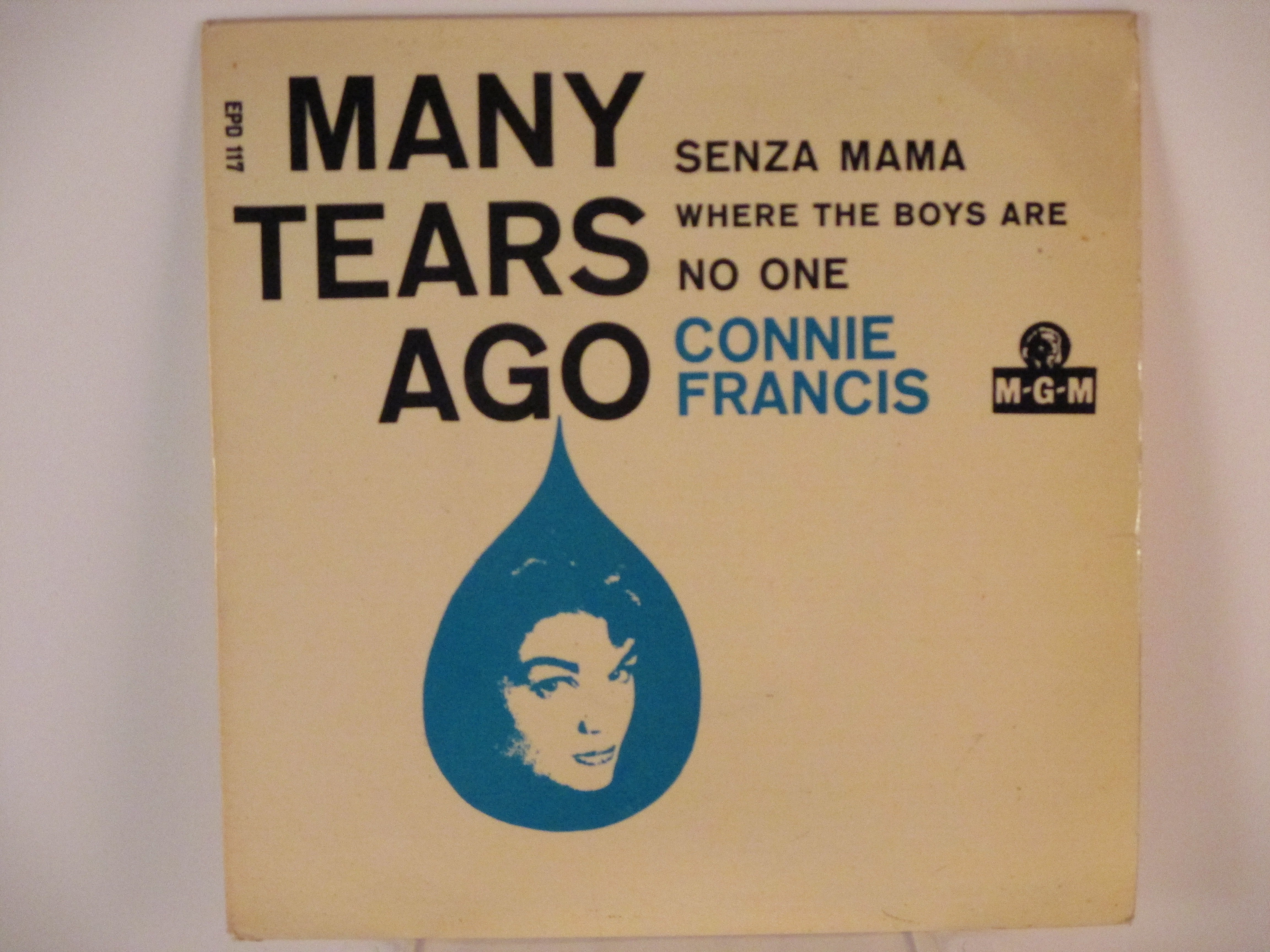 CONNIE FRANCIS : (EP) Many tears ago / Senza mama / Where the boys are / No one
