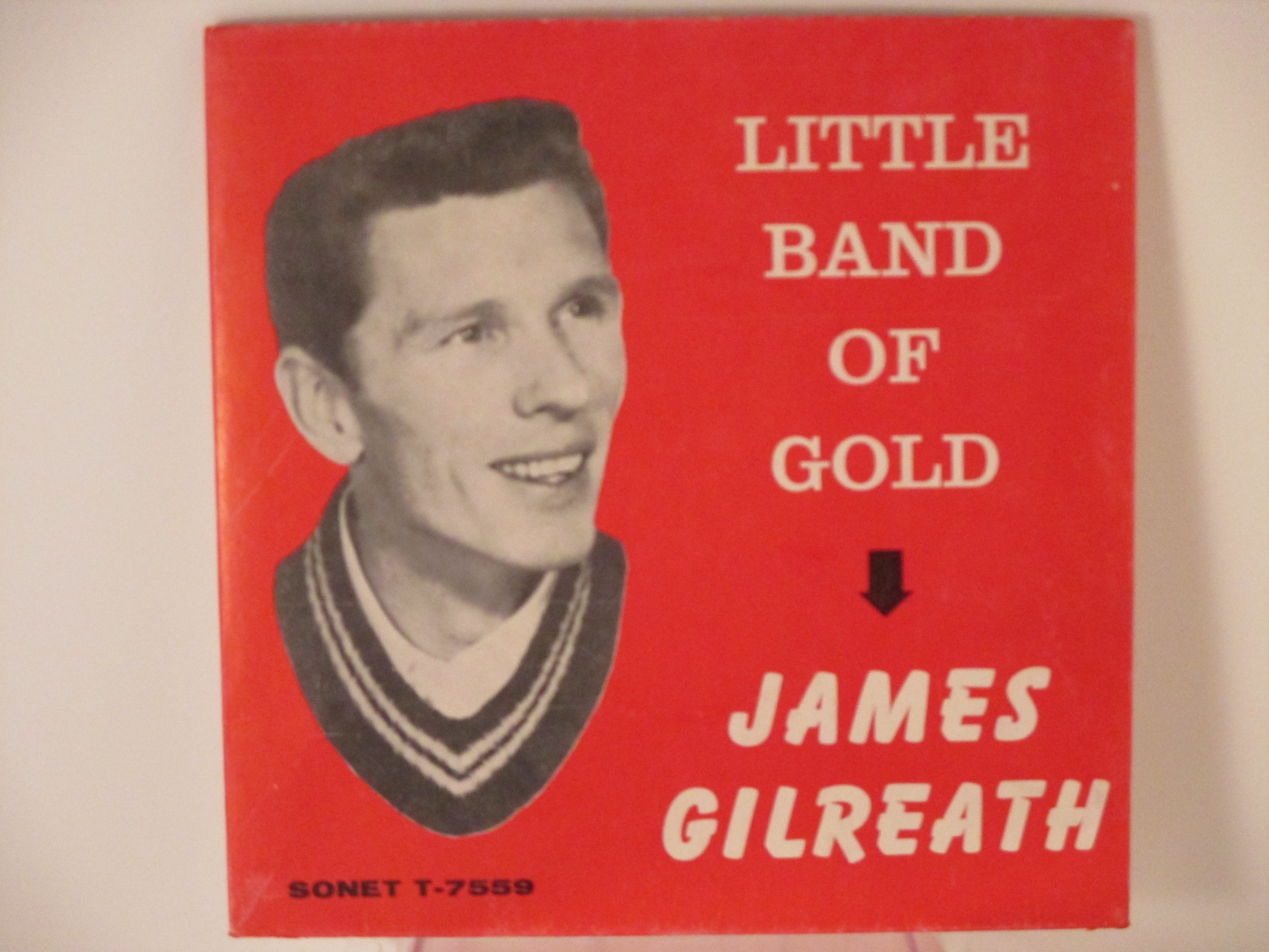 JAMES GILREATH : Little band of gold / I'll walk with you