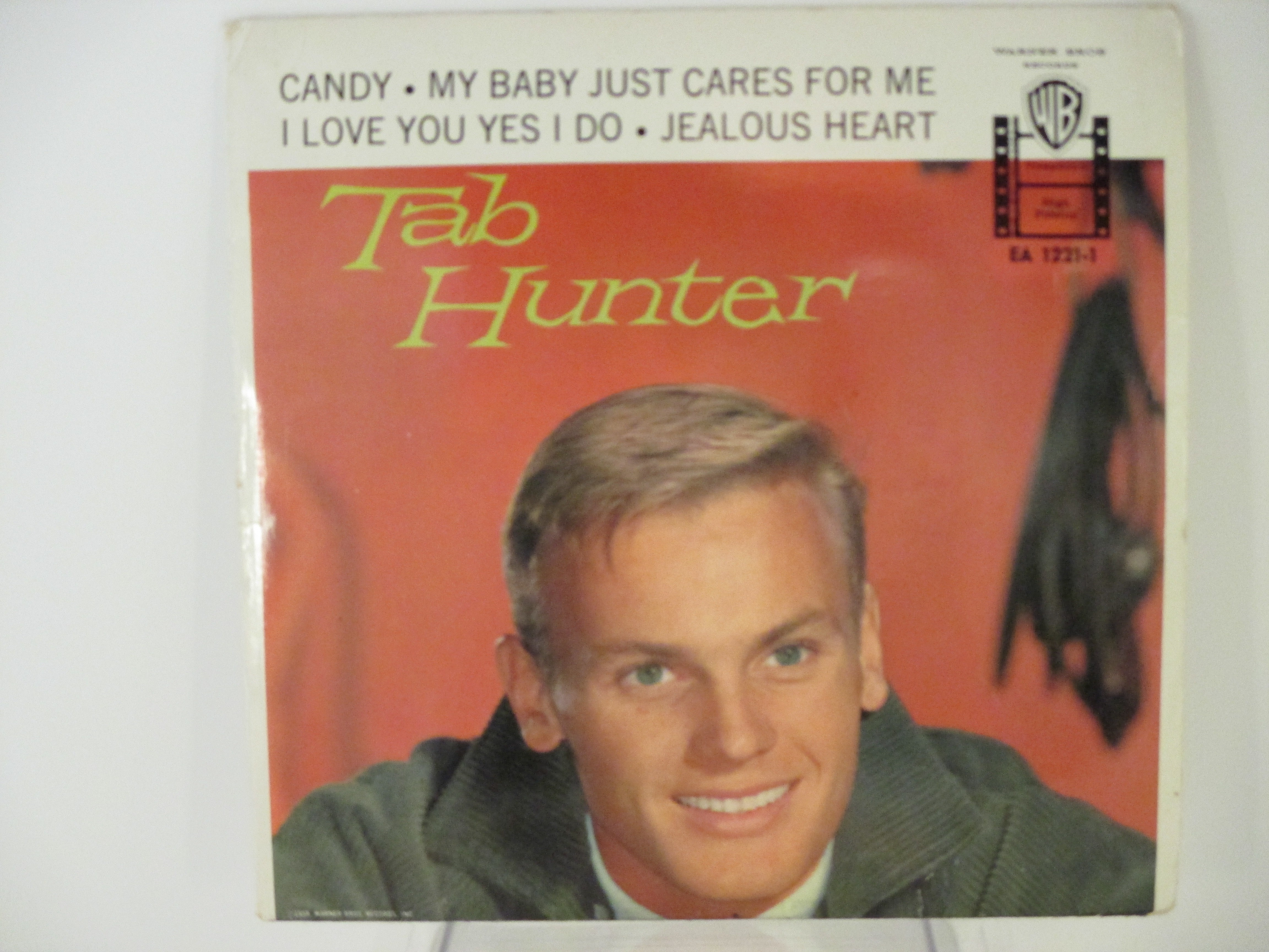 TAB HUNTER : (EP) Candy / My baby just cares for me / I love you yes I do / Jealous heart