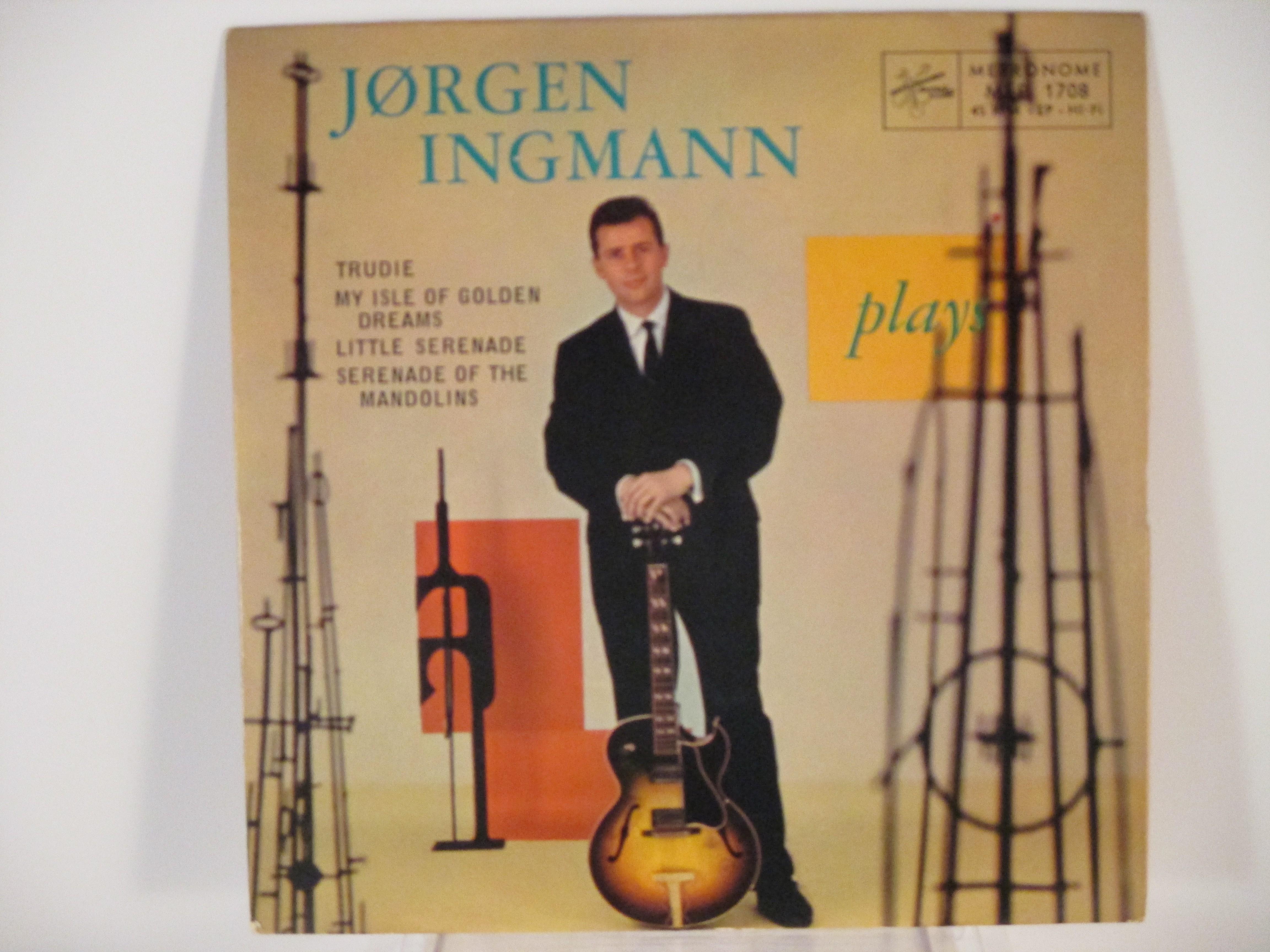 JÖRGEN INGMANN : (EP) Trudie / My isle of golden dreams / Little serenade / Serenade of the mandolins