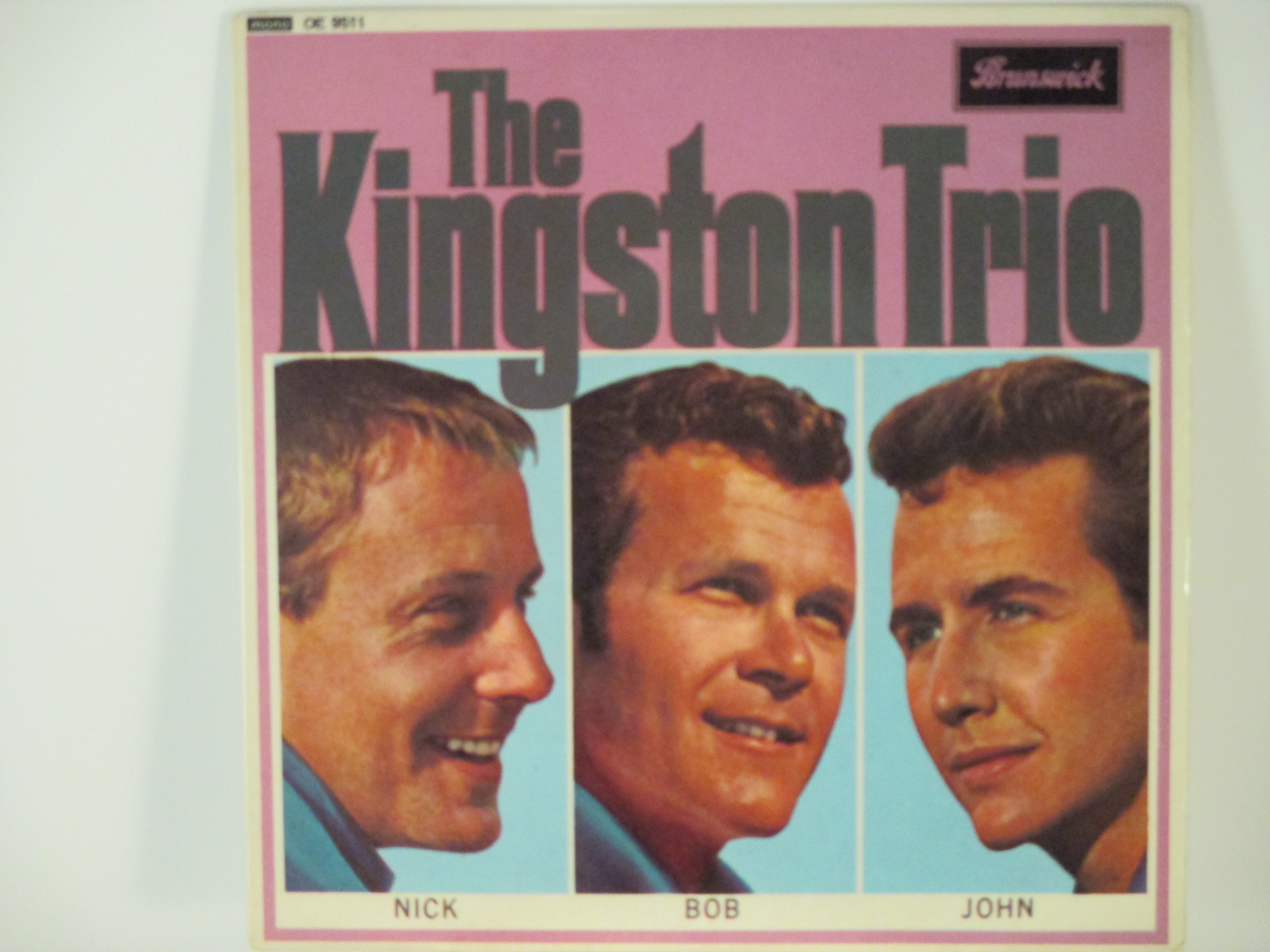 KINGSTON TRIO : (EP) I'm goin' home / Farewell / My ramblin' boy / Little play soldiers