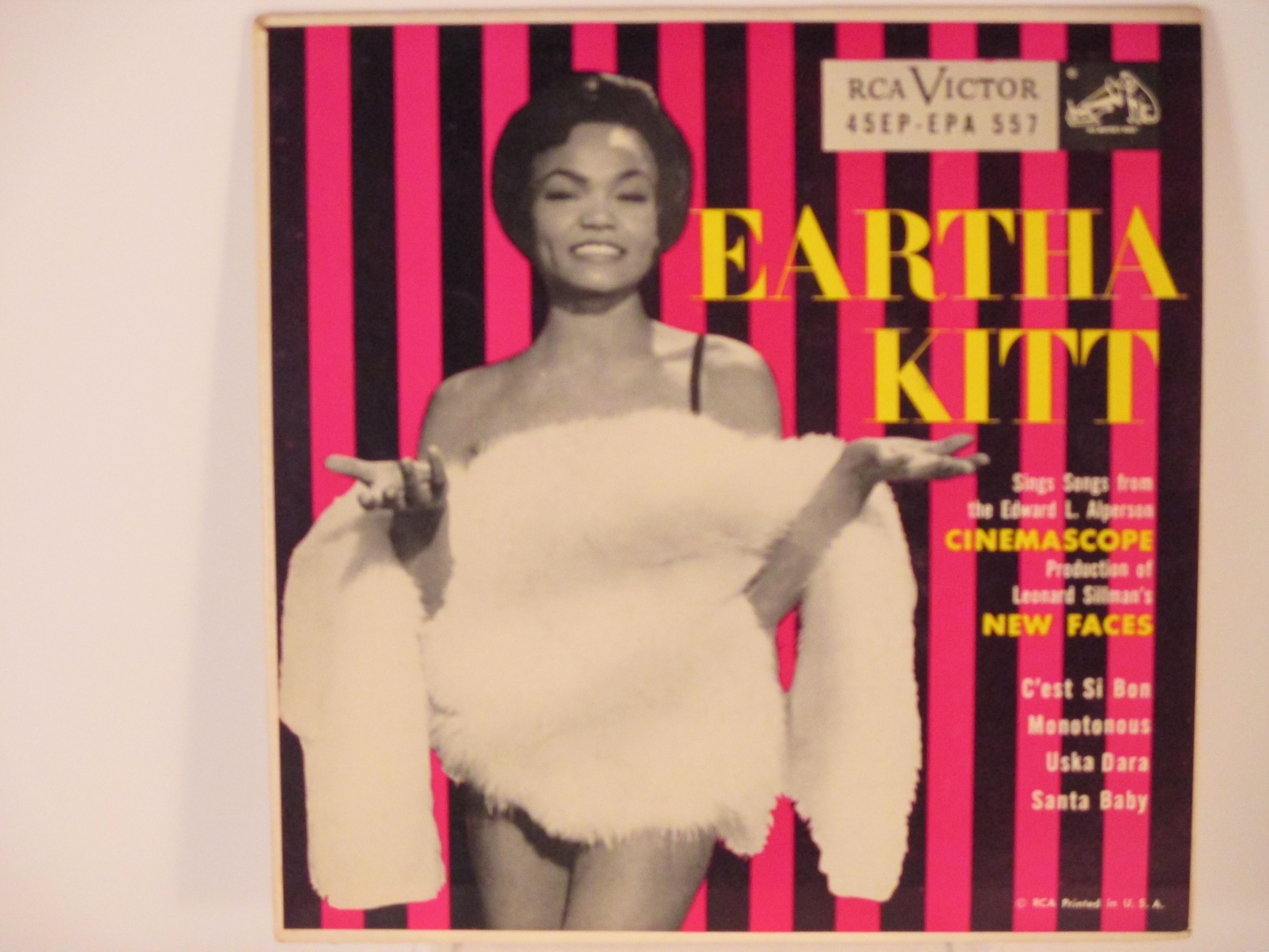 EARTHA KITT : (EP) C'est si bon / Monotonous / Uska dara / Santa baby