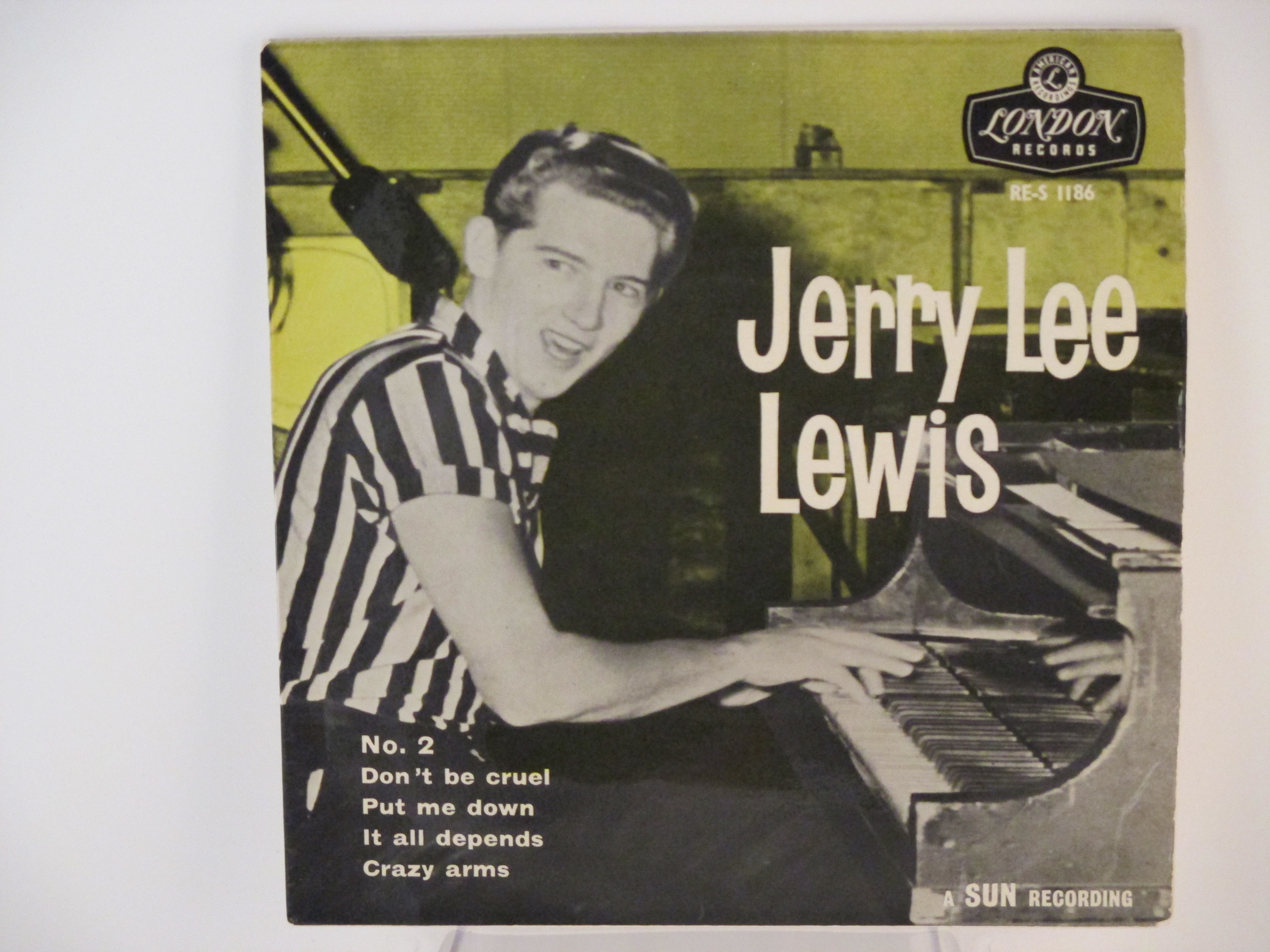 JERRY LEE LEWIS : (EP) Don't be cruel / Put me down / It all depends / Crazy arms