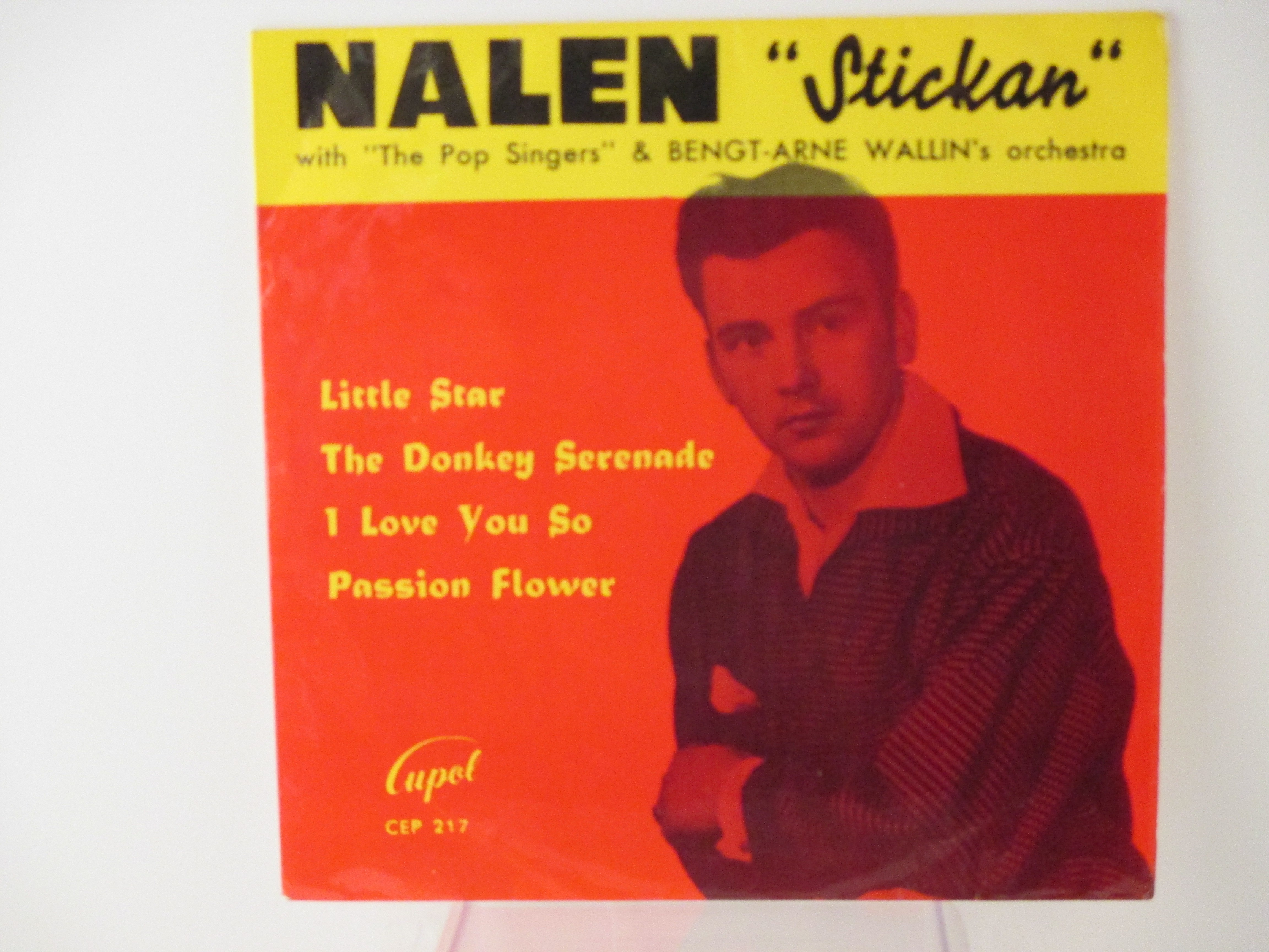 STICKAN LUNDBECK : (EP) Little star / The donkey serenade / I love you so / Passion flower