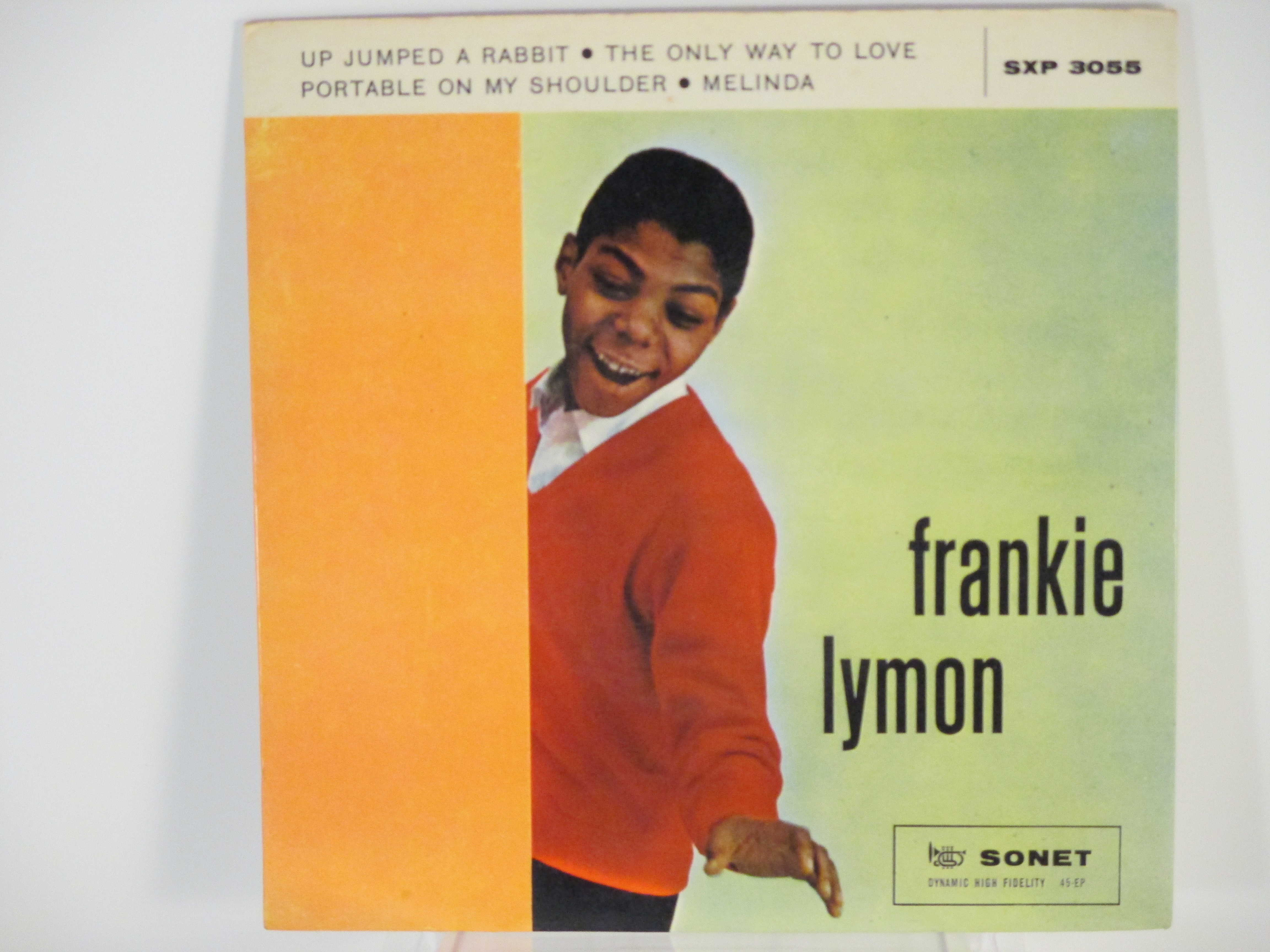 FRANKIE LYMON : (EP) Up jumped a rabbit / The only way to love / Portable on my shoulder / Melinda