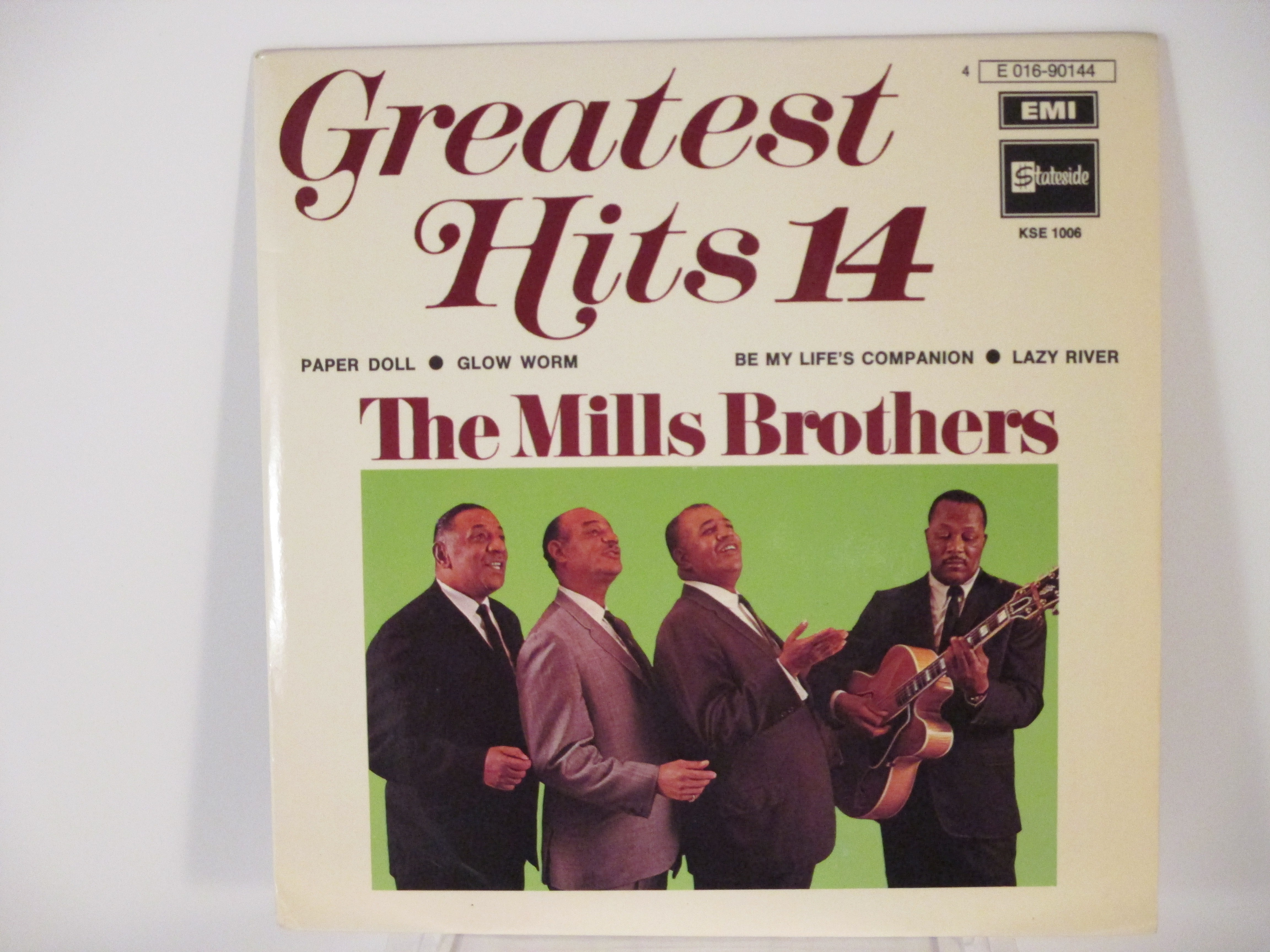 MILLS BROTHERS : (EP) Paper doll / Glow worm / Be my life's companion / Lazy river