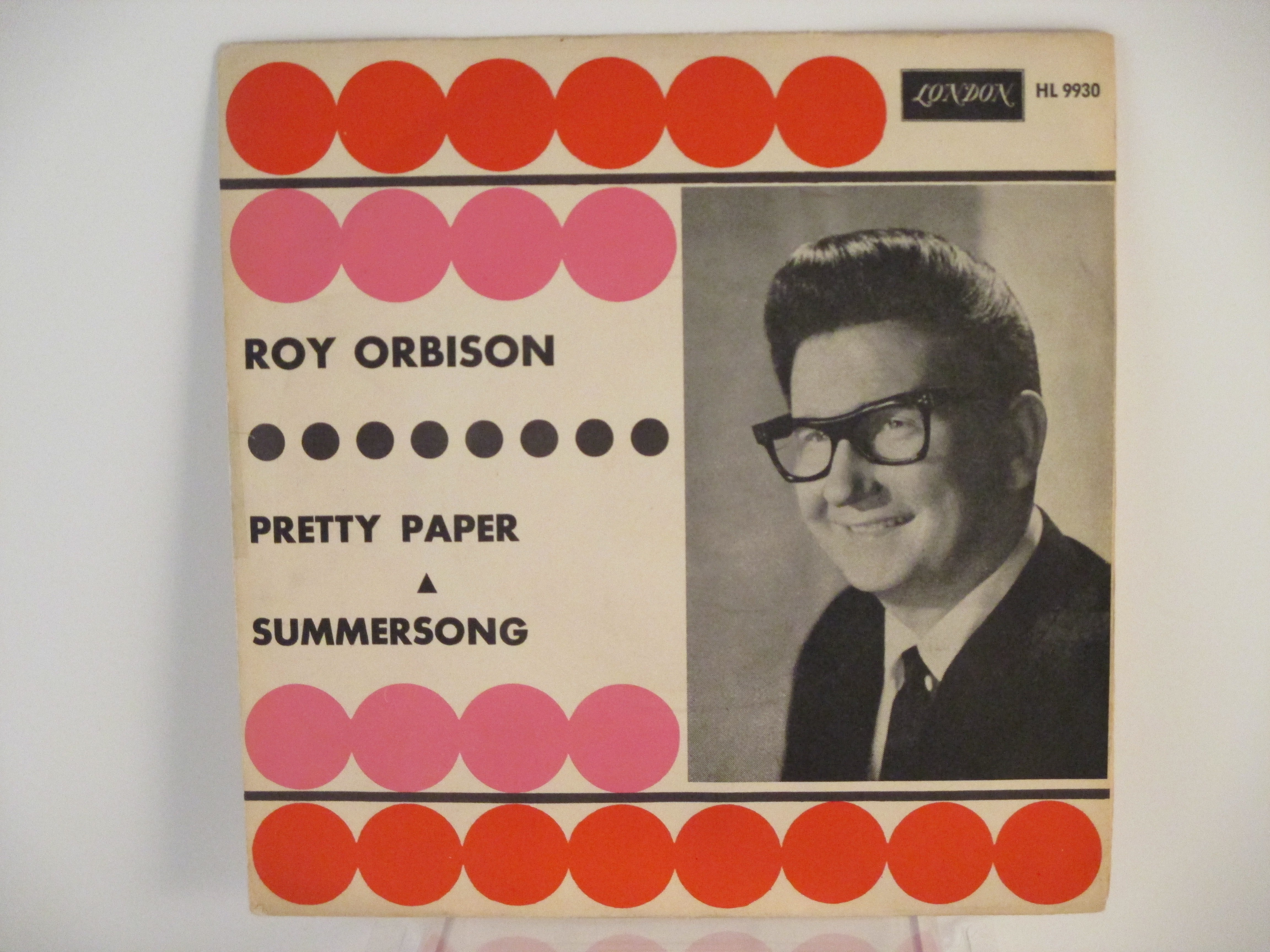 ROY ORBISON : Pretty paper / Summersong