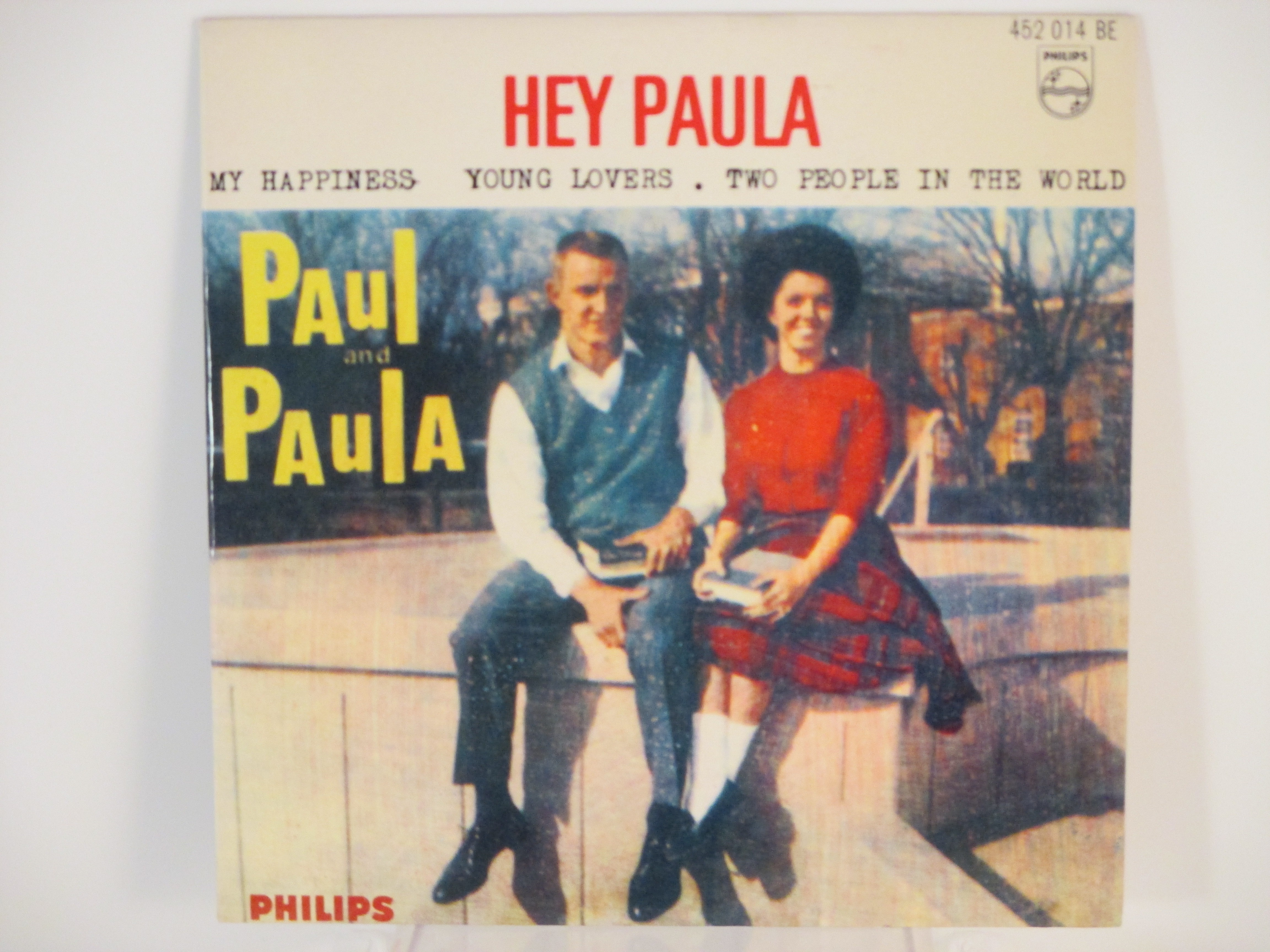 PAUL & PAULA : (EP) Hej Paula / My happiness / Young lovers / Two people in the world