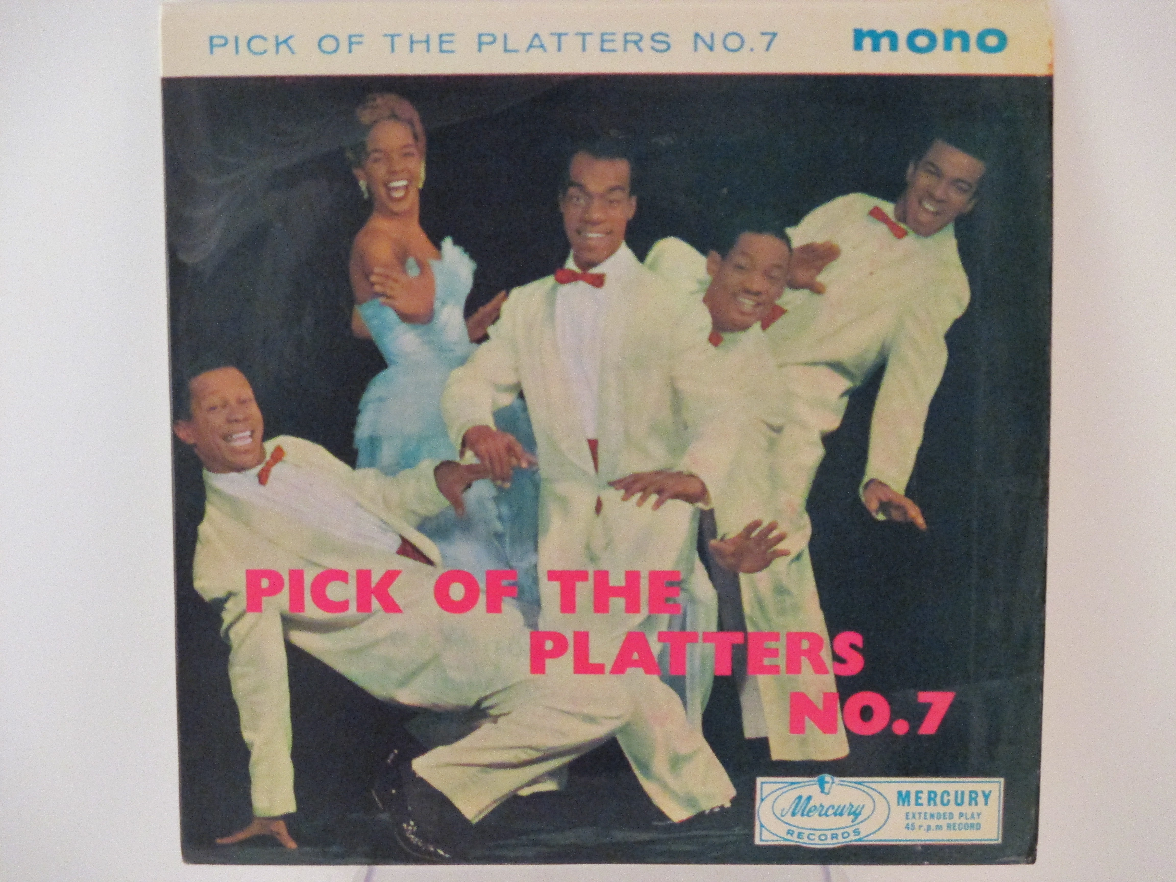 PLATTERS : (EP) Only you / The great pretender / My prayer / The magic touch