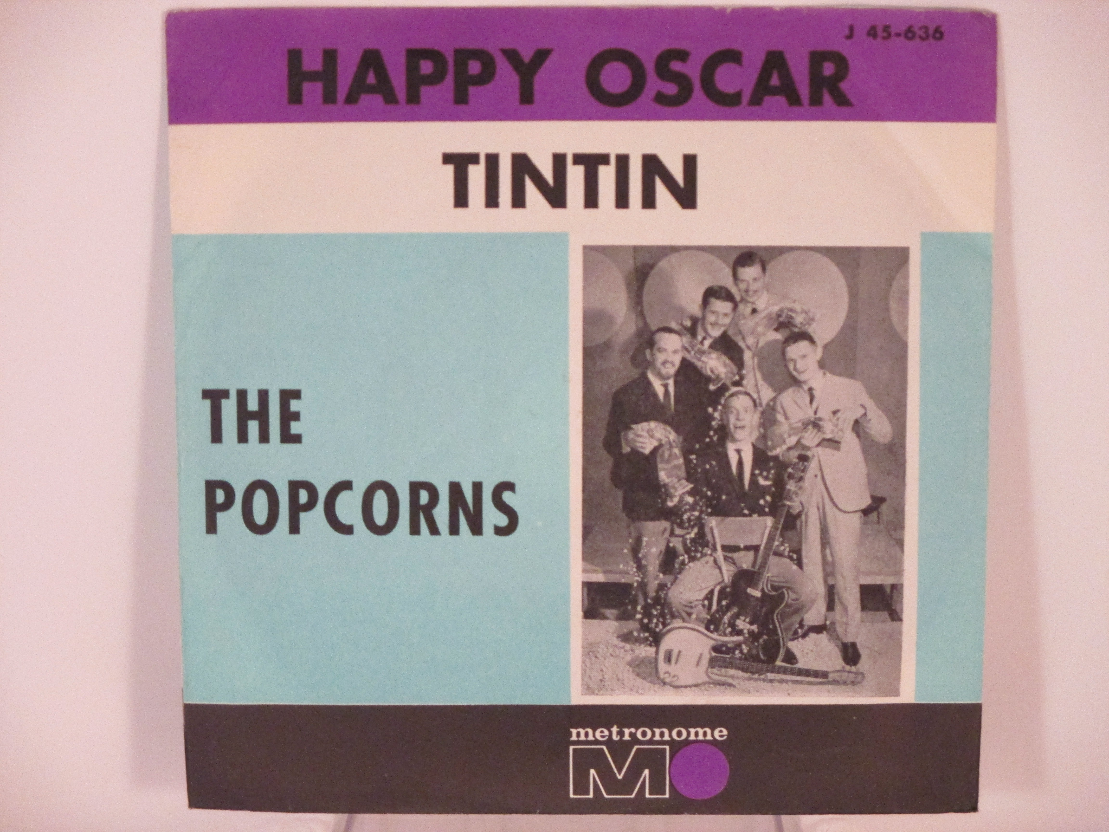 POPCORNS : Happy Oscar / Tintin
