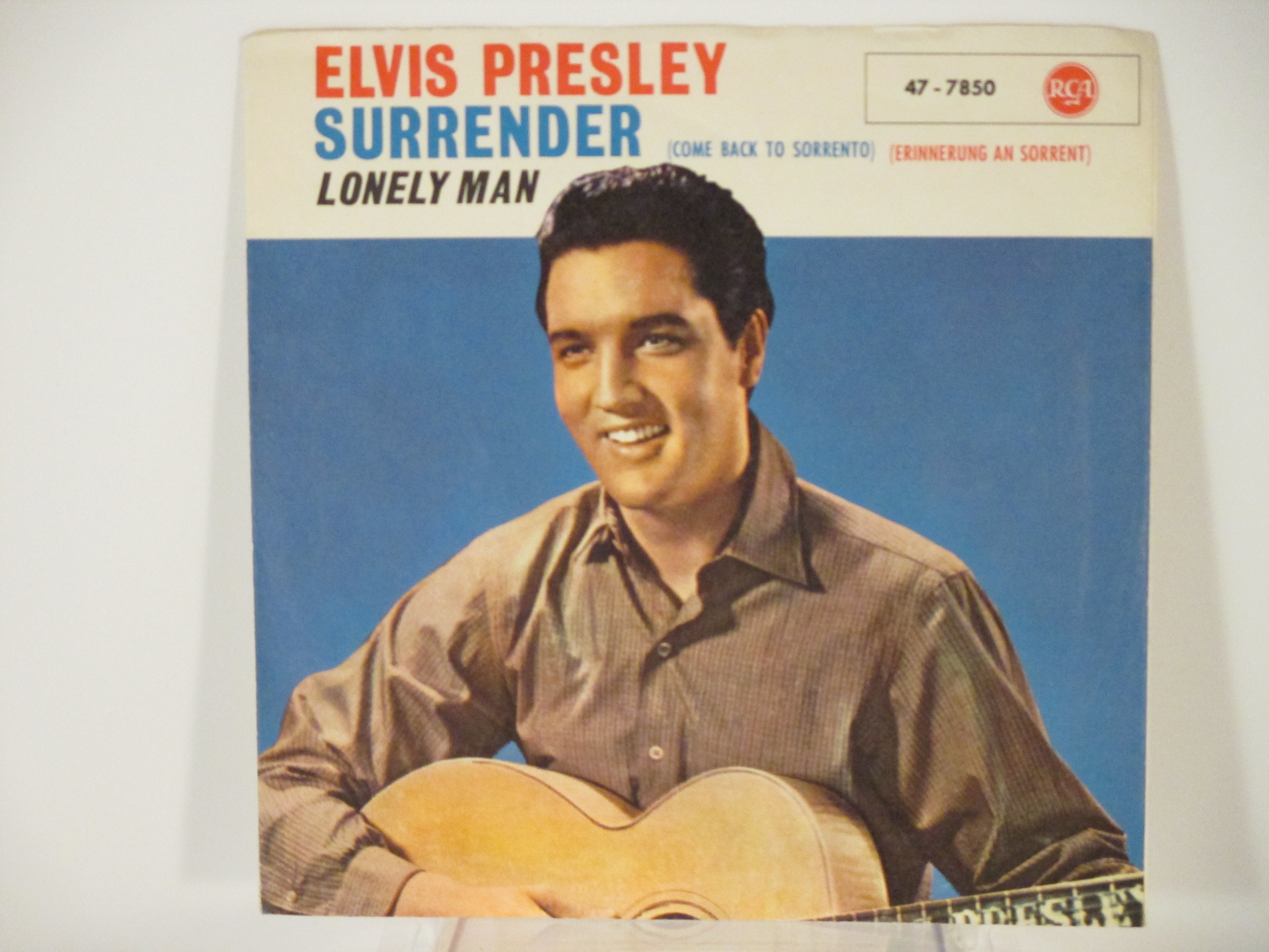 ELVIS PRESLEY : Surrender / Lonely man